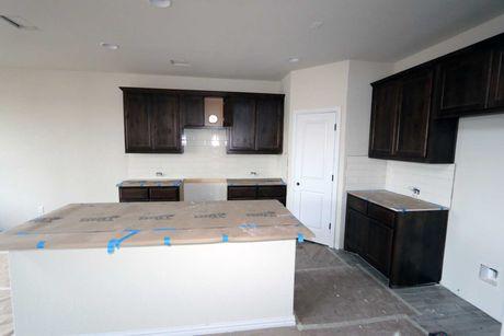 Kitchen-in-Driskill-at-Carmel Creek-in-Hutto