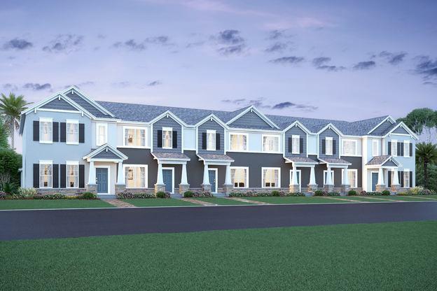 Heritage At Plant Street In Winter Garden FL New Homes Floor Enchanting New Homes In Winter Garden Fl