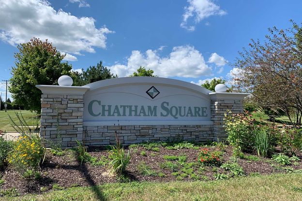 The Townes at Chatham Square Entrance