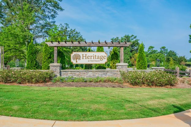 Heritage at Neel Ranch Entrance