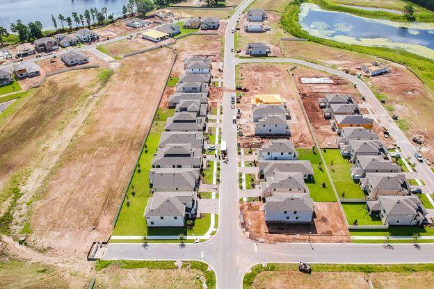 Long Lake Ranch Estate Aerial