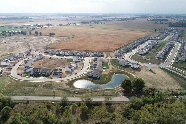 Darby Fields Aerial
