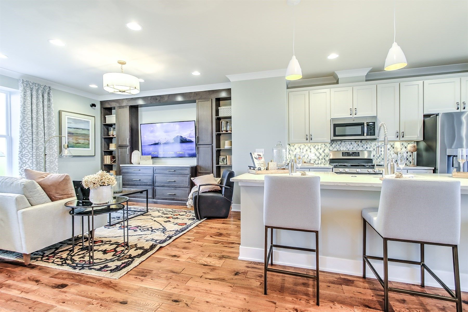 Living Area featured in the Lasalle By M/I Homes in Chicago, IL