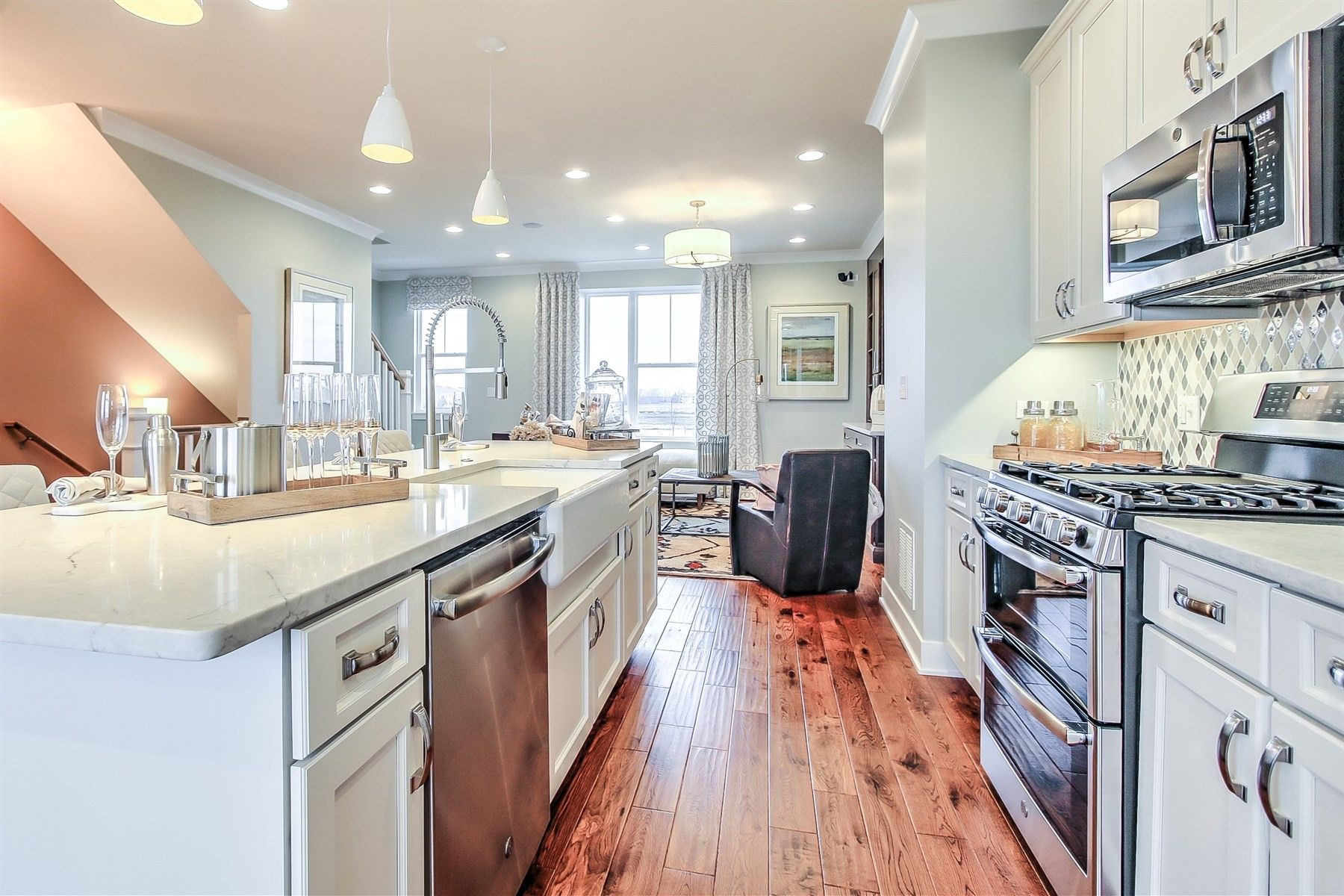 Kitchen featured in the Lasalle By M/I Homes in Chicago, IL