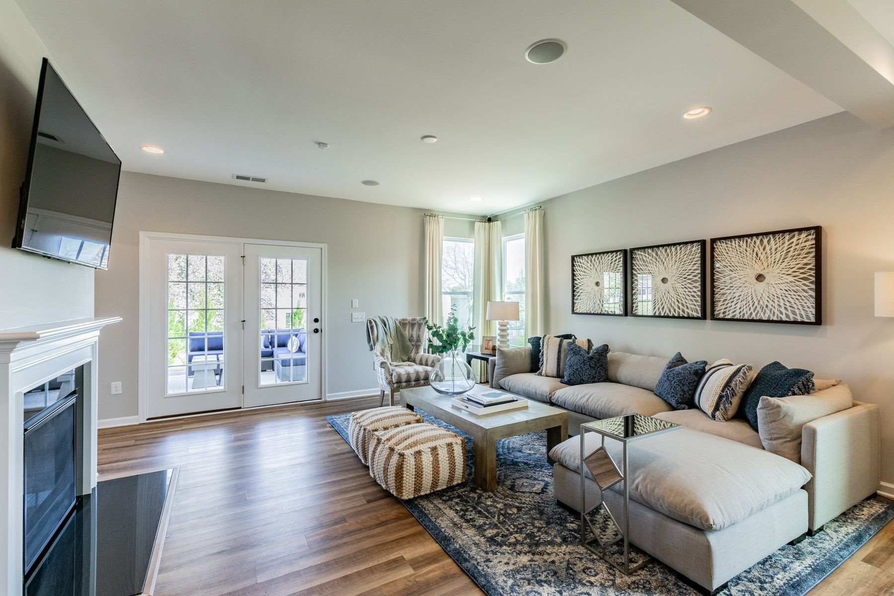 Living Area featured in the Marvin II By M/I Homes in Charlotte, NC
