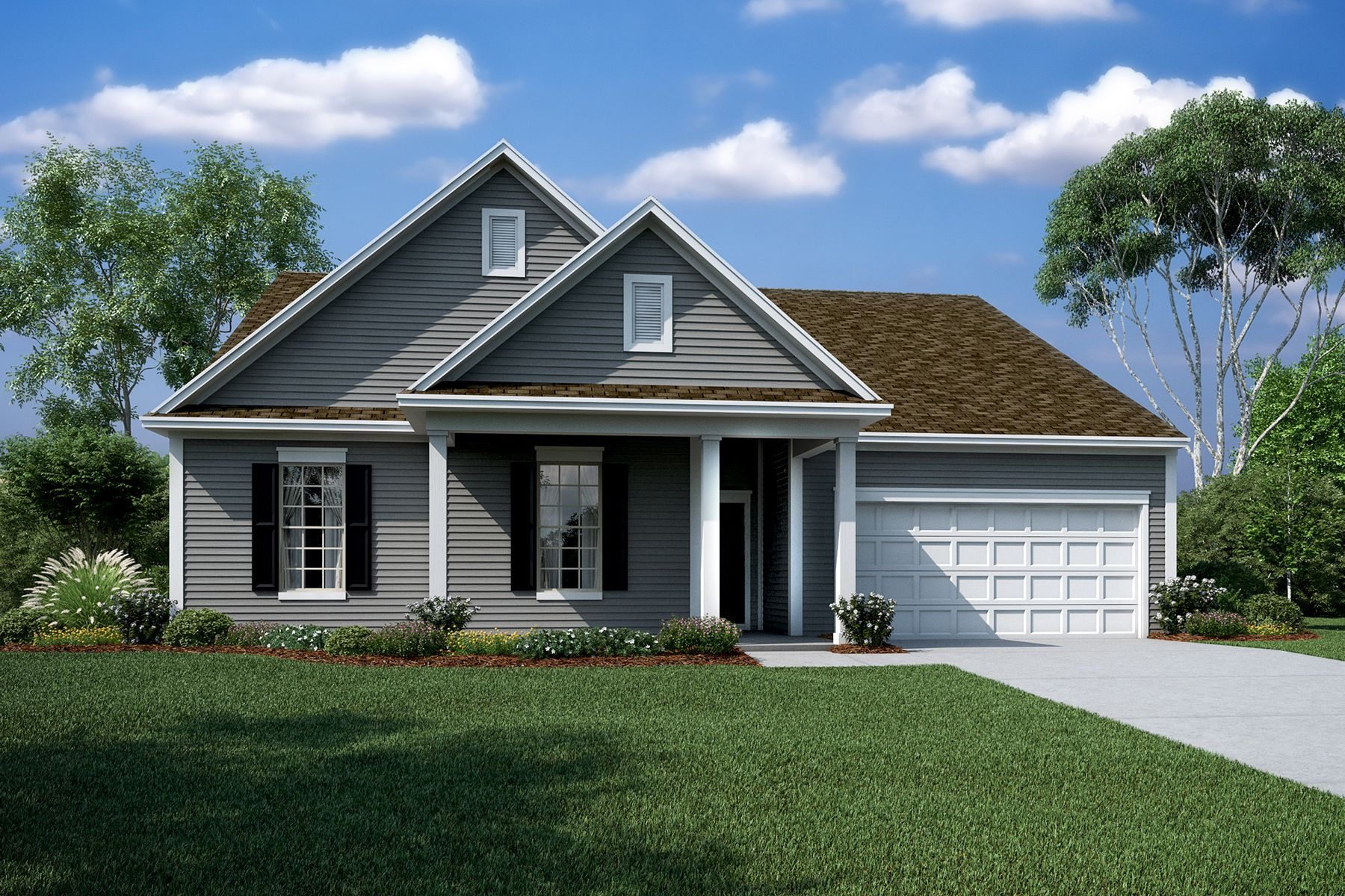 Exterior featured in the Jefferson By M/I Homes in Charlotte, NC