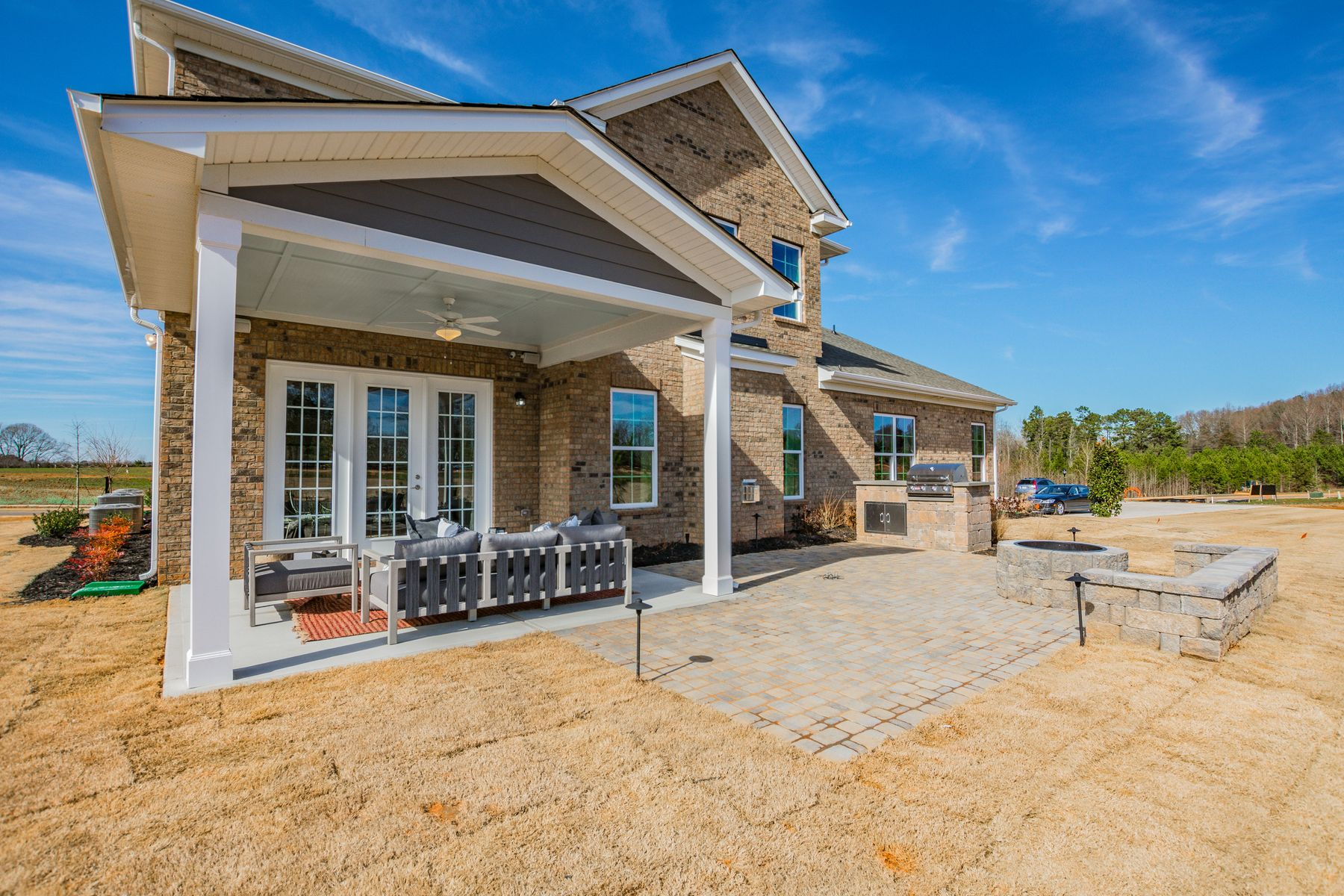 Exterior featured in the Allison By M/I Homes in Charlotte, SC