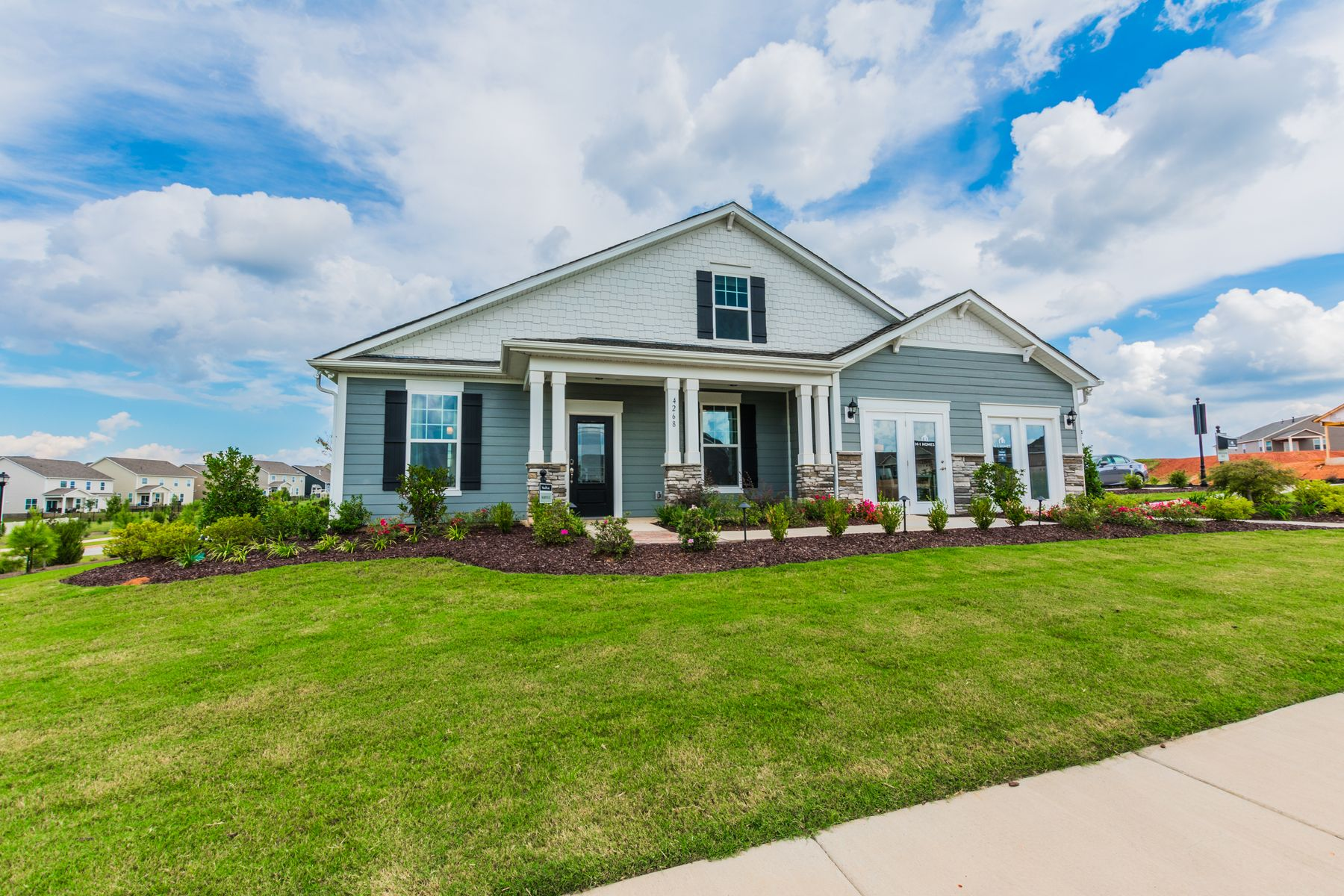 Exterior featured in the Marvin II By M/I Homes in Charlotte, SC