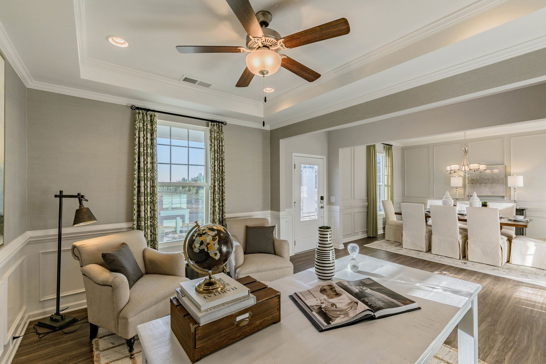 Living Area featured in the Marvin II By M/I Homes in Charlotte, SC