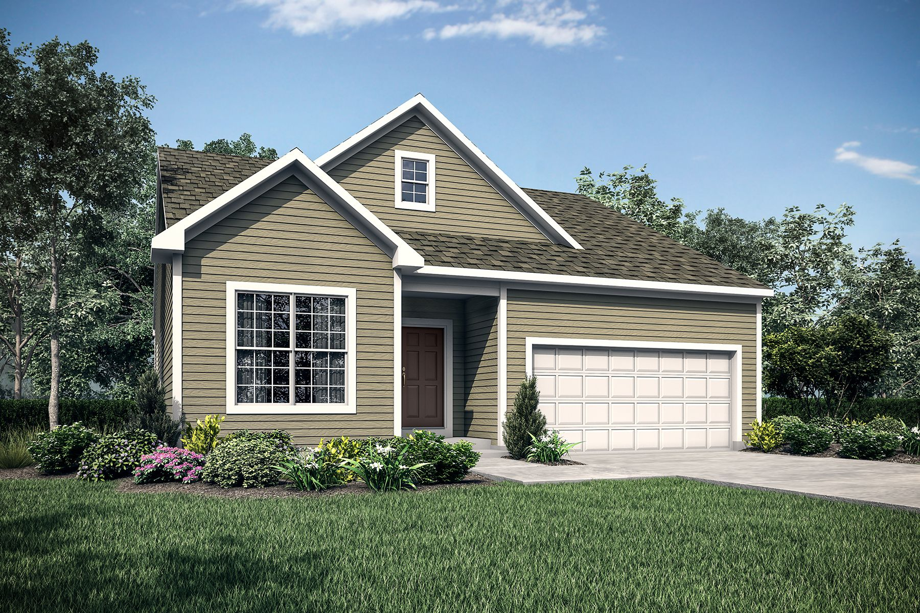 Exterior featured in the Remington By M/I Homes in Cincinnati, OH