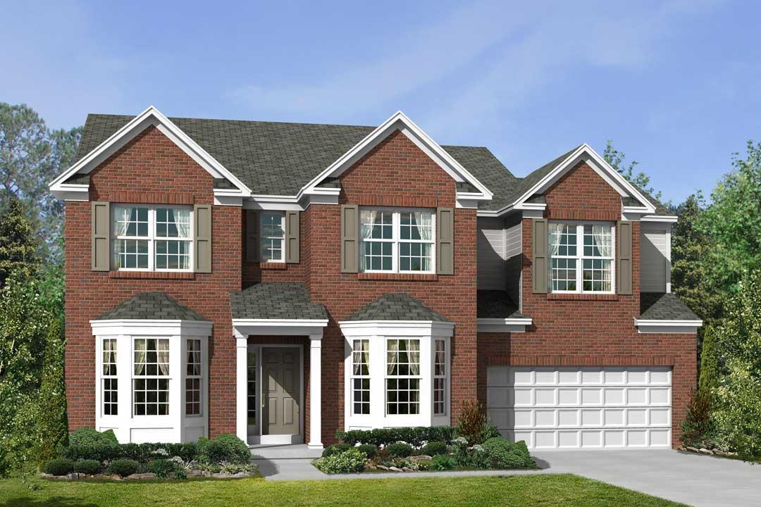 Exterior featured in the Ryder By M/I Homes in Cincinnati, OH