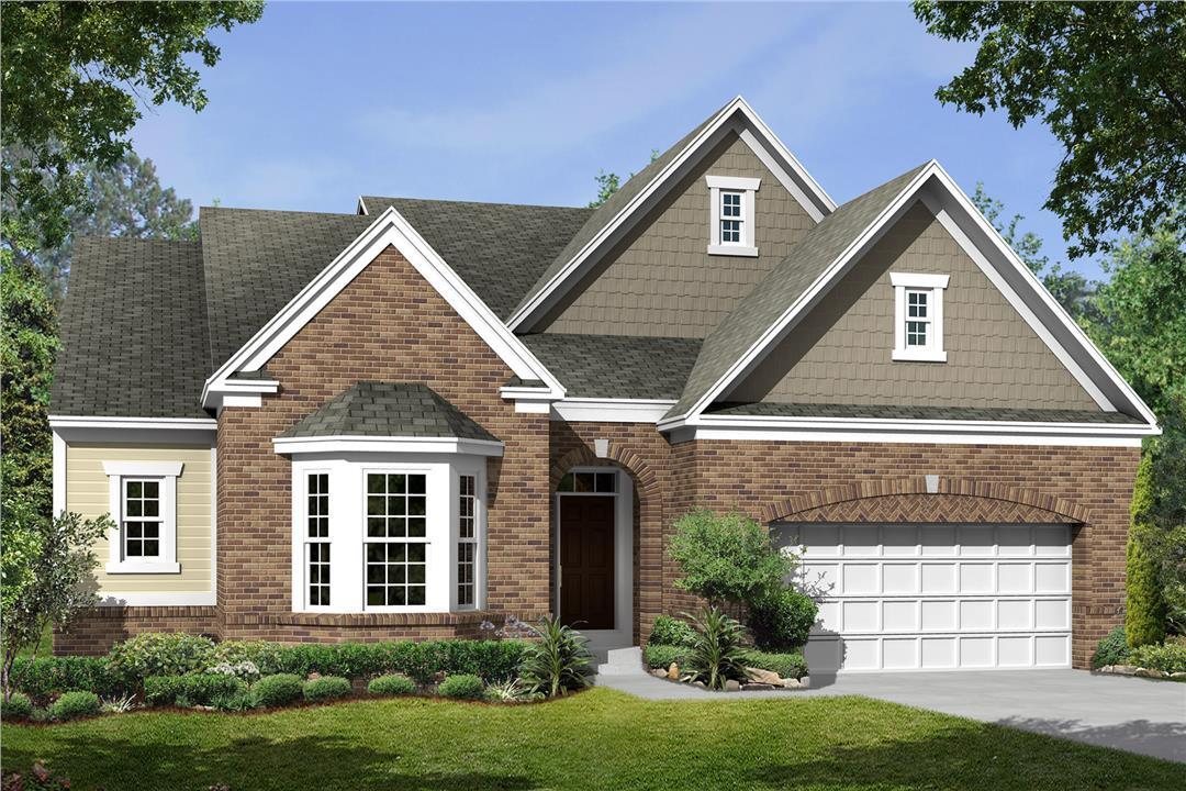 Exterior featured in the Serenity By M/I Homes in Dayton-Springfield, OH
