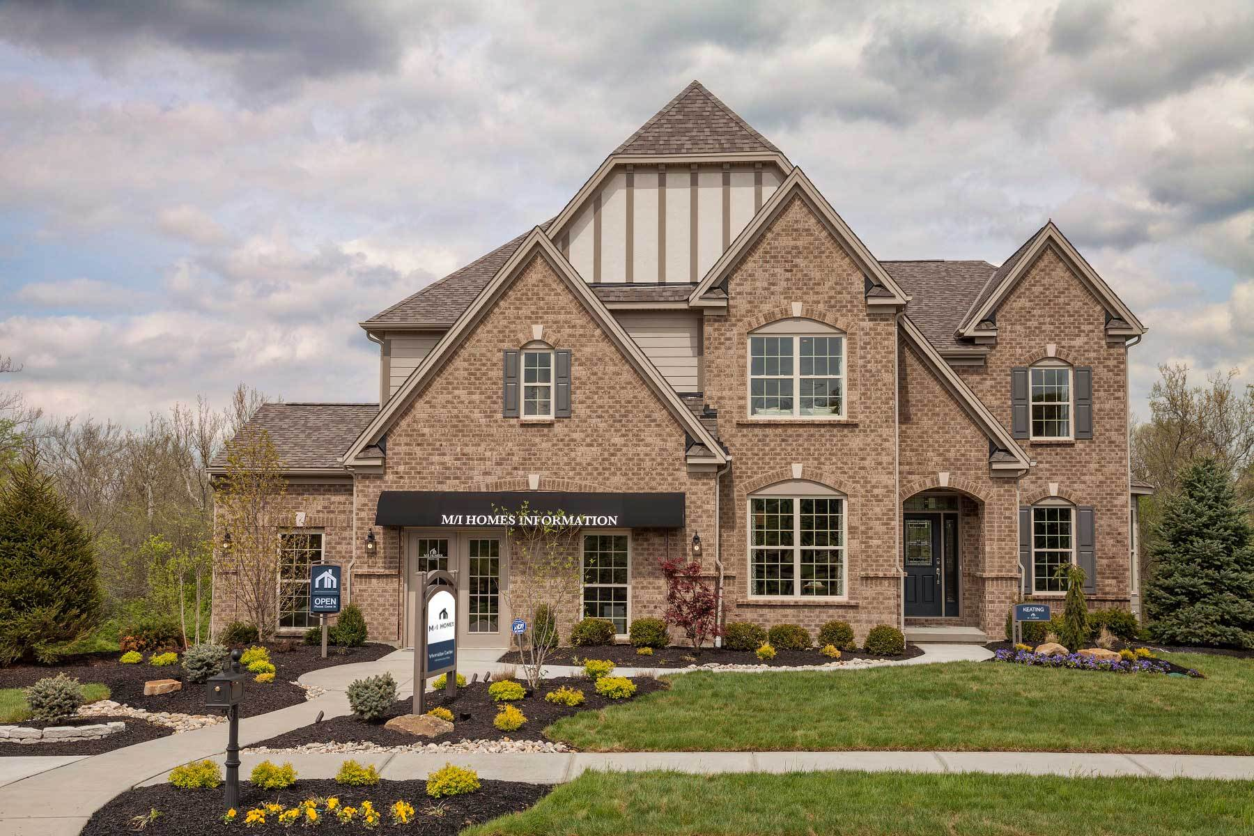 Exterior featured in the Keating By M/I Homes in Cincinnati, OH