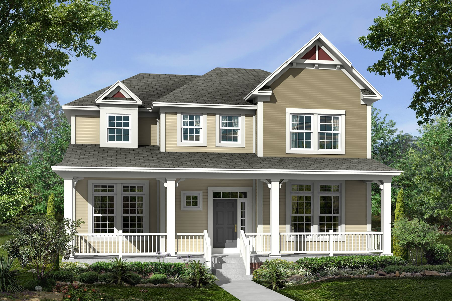 Exterior featured in the Resolute By M/I Homes in Cincinnati, OH