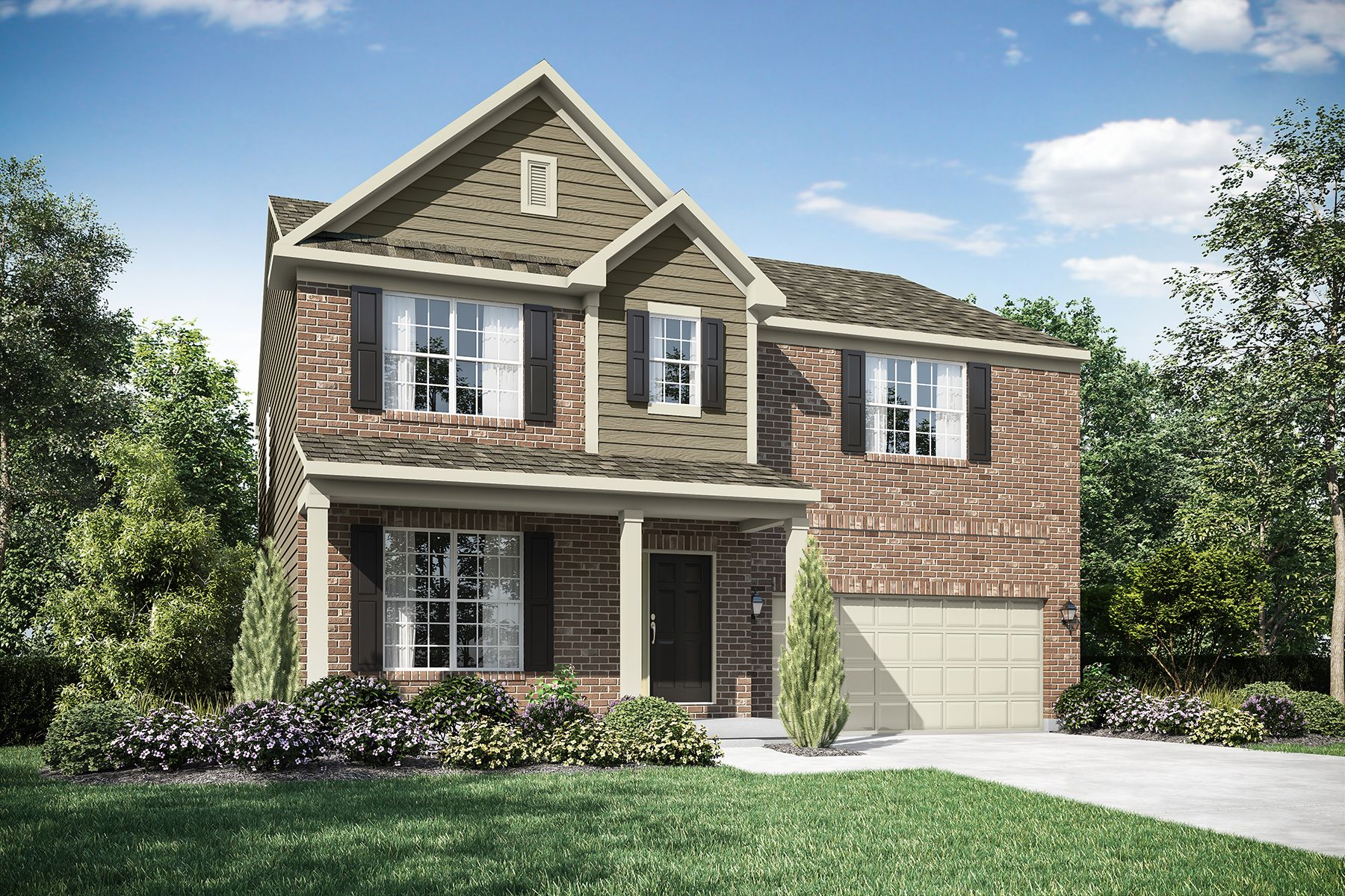 Exterior featured in the Sinclair By M/I Homes in Cincinnati, OH