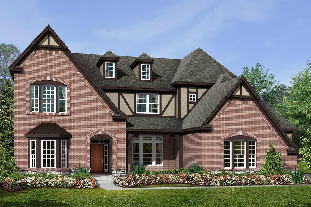 Exterior featured in the Walden Classic By M/I Homes in Cincinnati, OH
