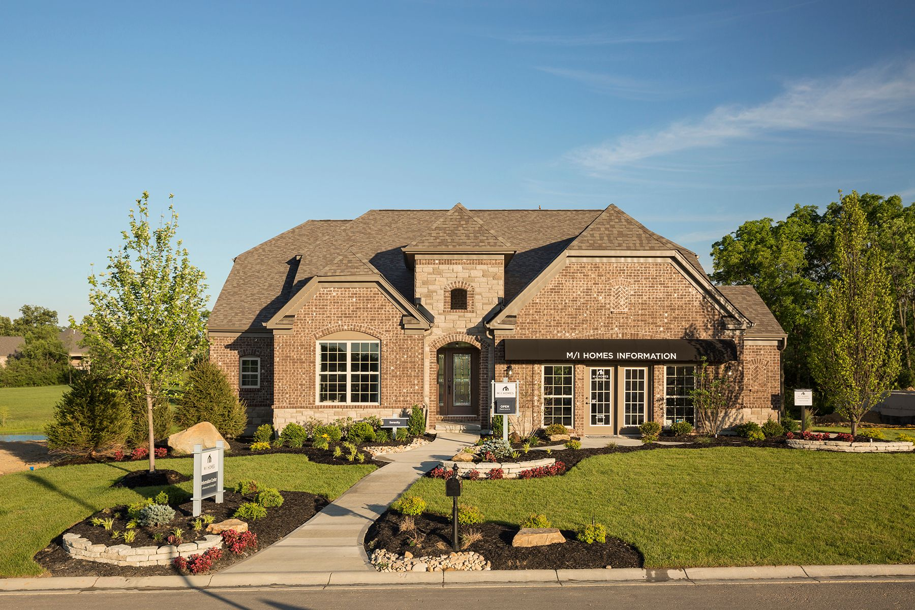 Exterior featured in the Serenity By M/I Homes in Cincinnati, OH
