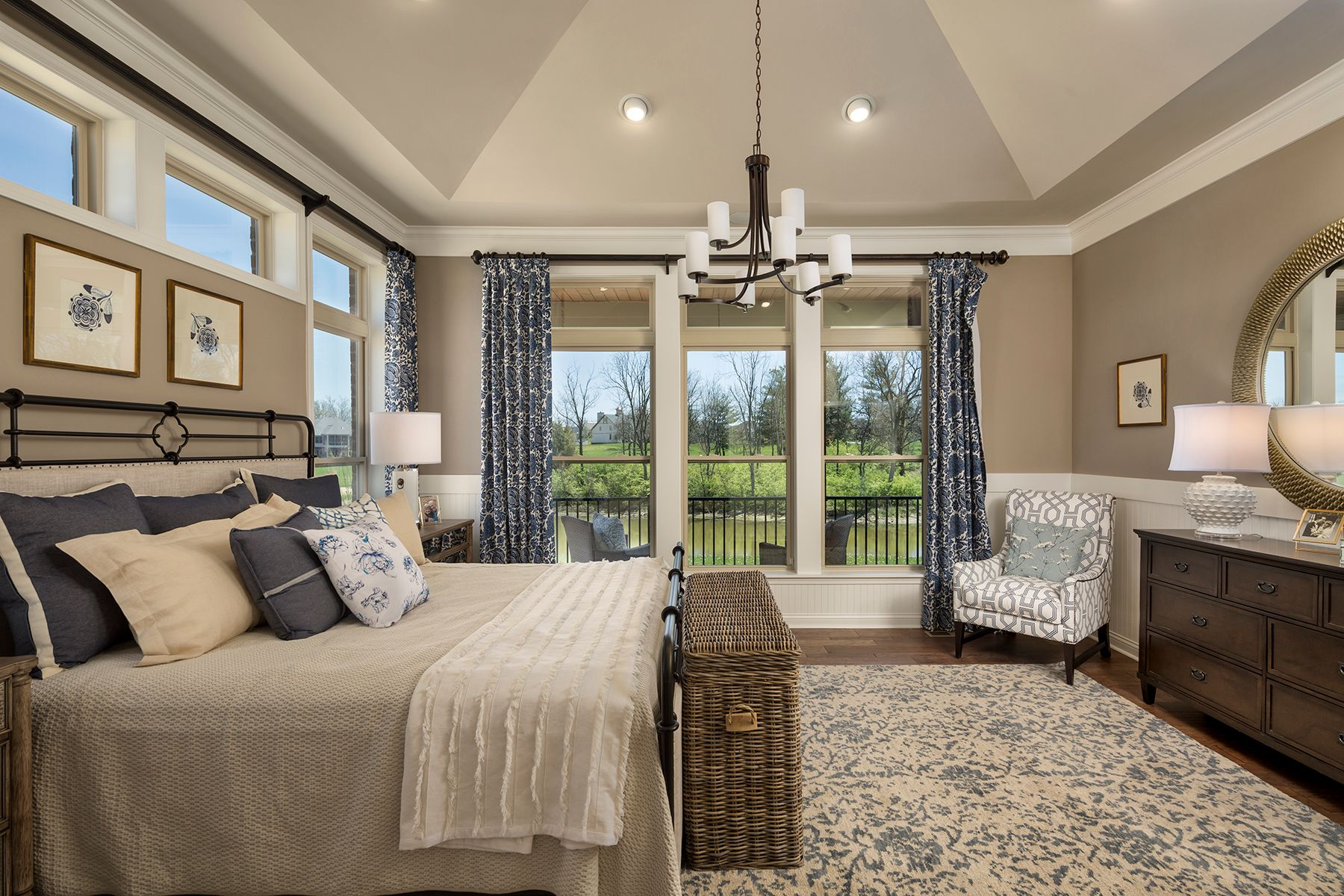 Bedroom featured in the Serenity By M/I Homes in Cincinnati, OH