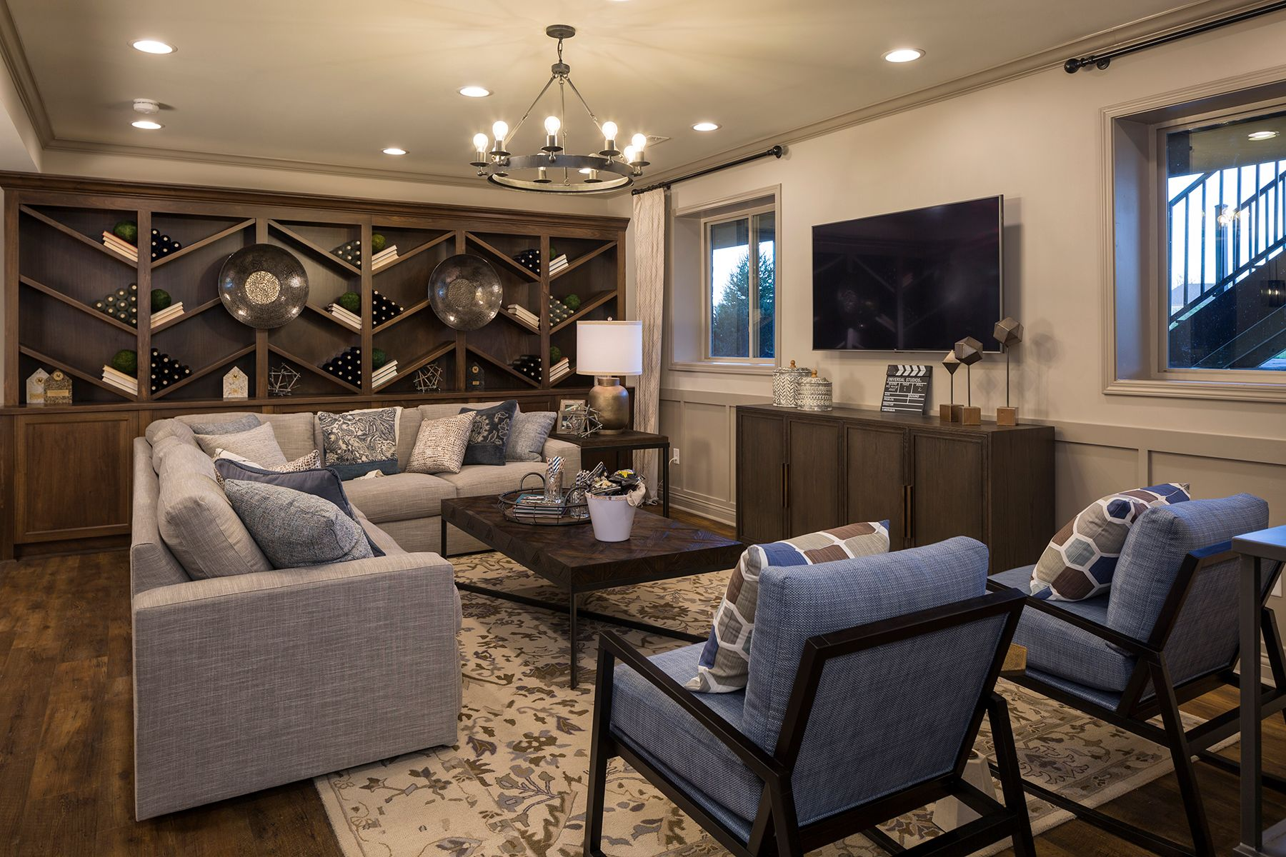 Living Area featured in the Serenity By M/I Homes in Cincinnati, OH