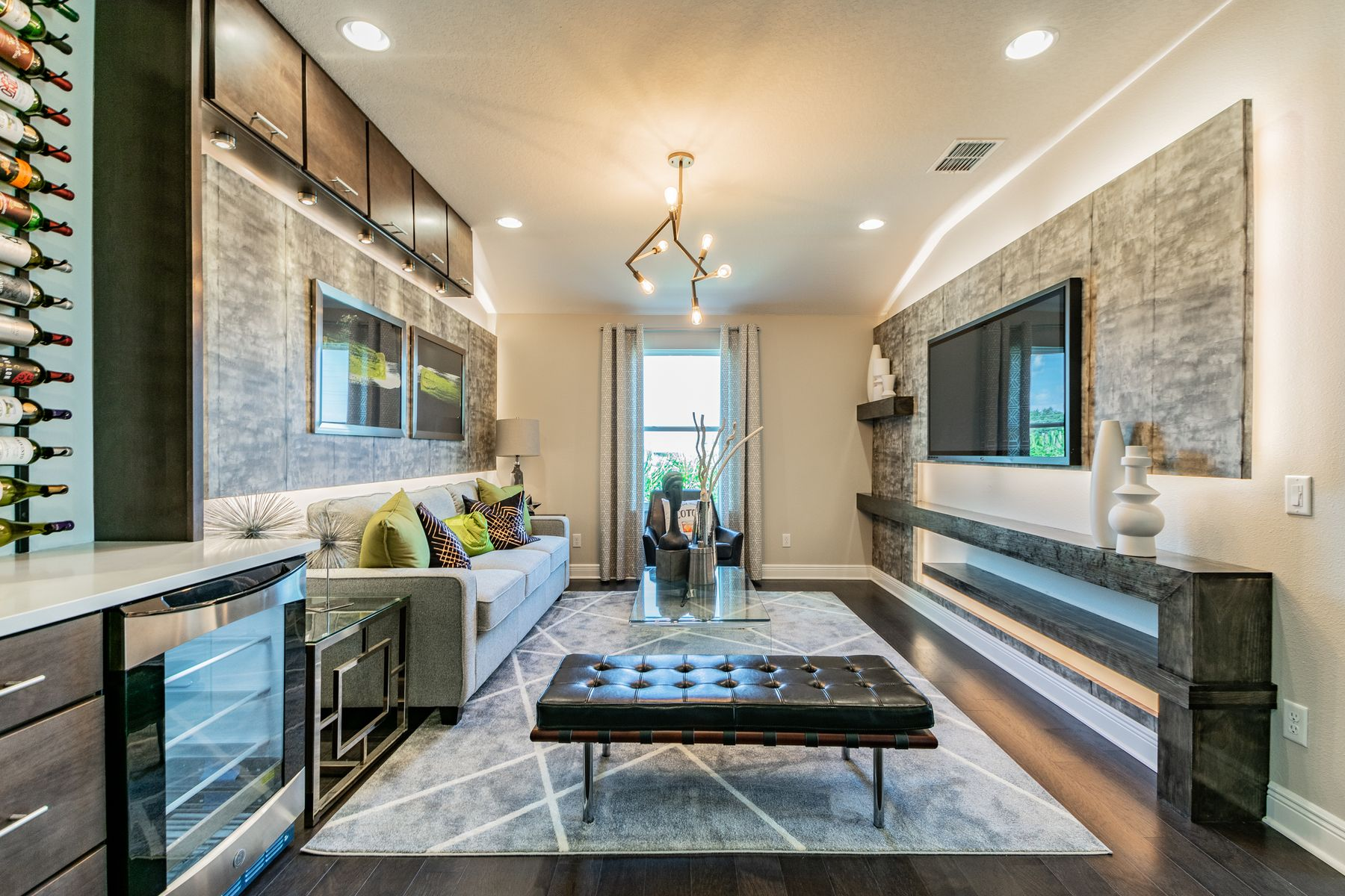 Living Area featured in the Devonshire II Coastal By M/I Homes in Tampa-St. Petersburg, FL