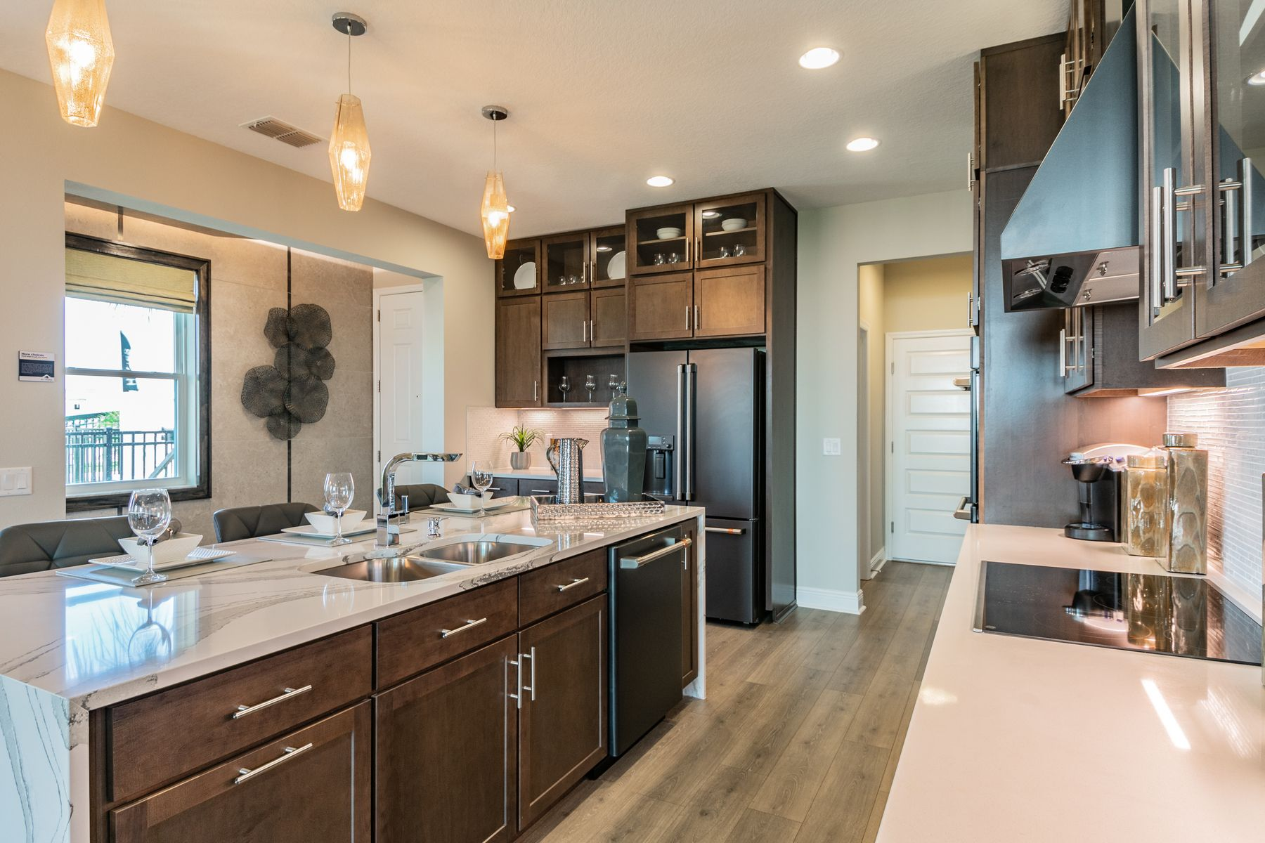 Kitchen featured in the Devonshire II Coastal By M/I Homes in Tampa-St. Petersburg, FL