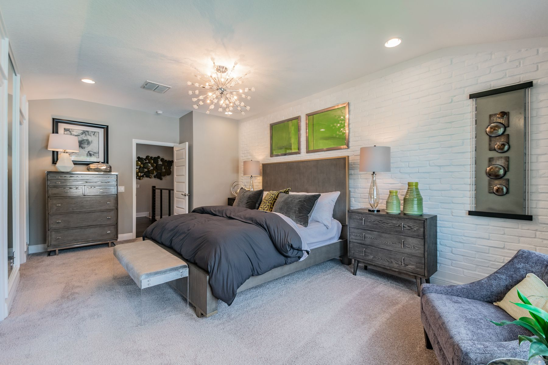 Bedroom featured in the Devonshire II Coastal By M/I Homes in Tampa-St. Petersburg, FL