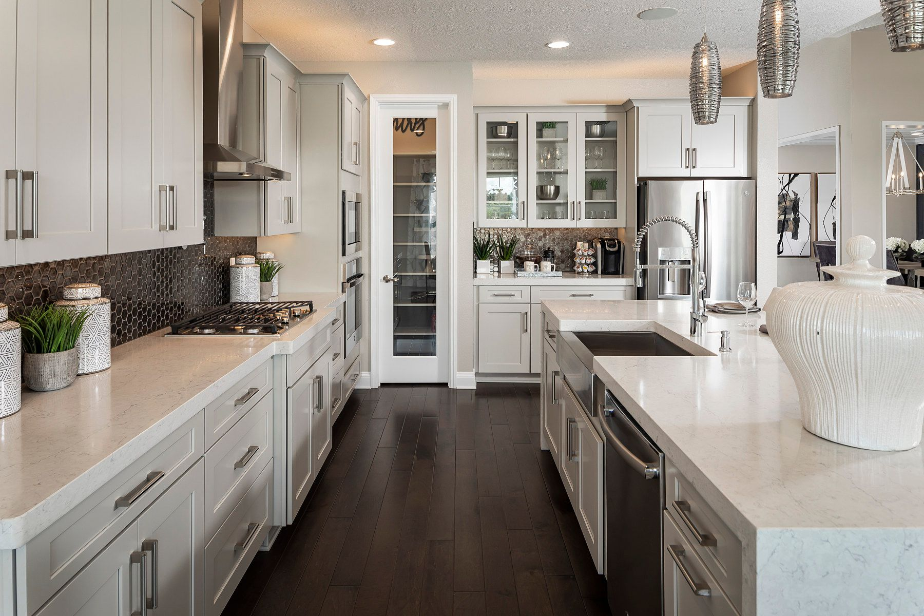 Kitchen featured in the Serenity By M/I Homes in Orlando, FL