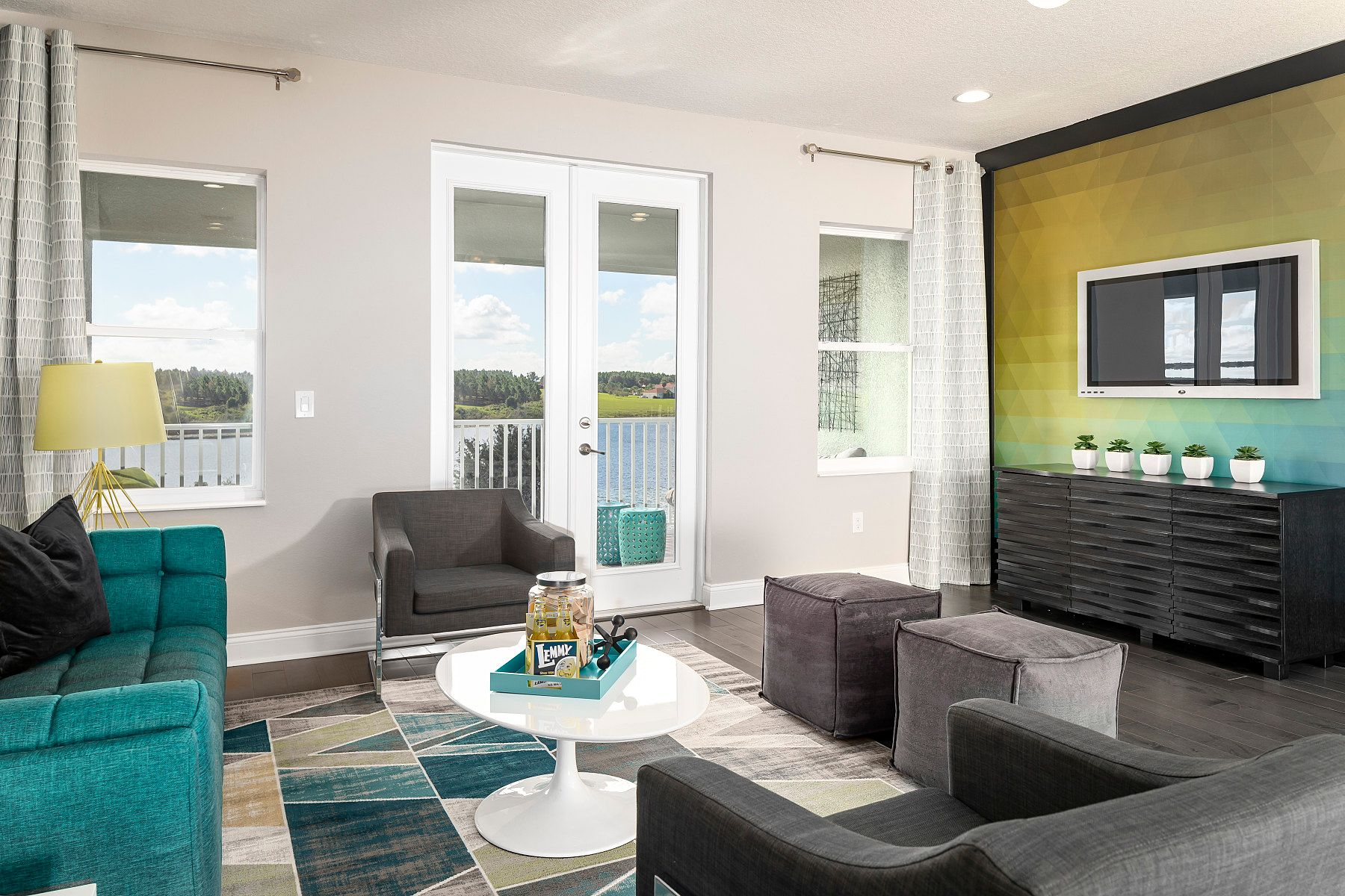 Living Area featured in the Serenity By M/I Homes in Orlando, FL