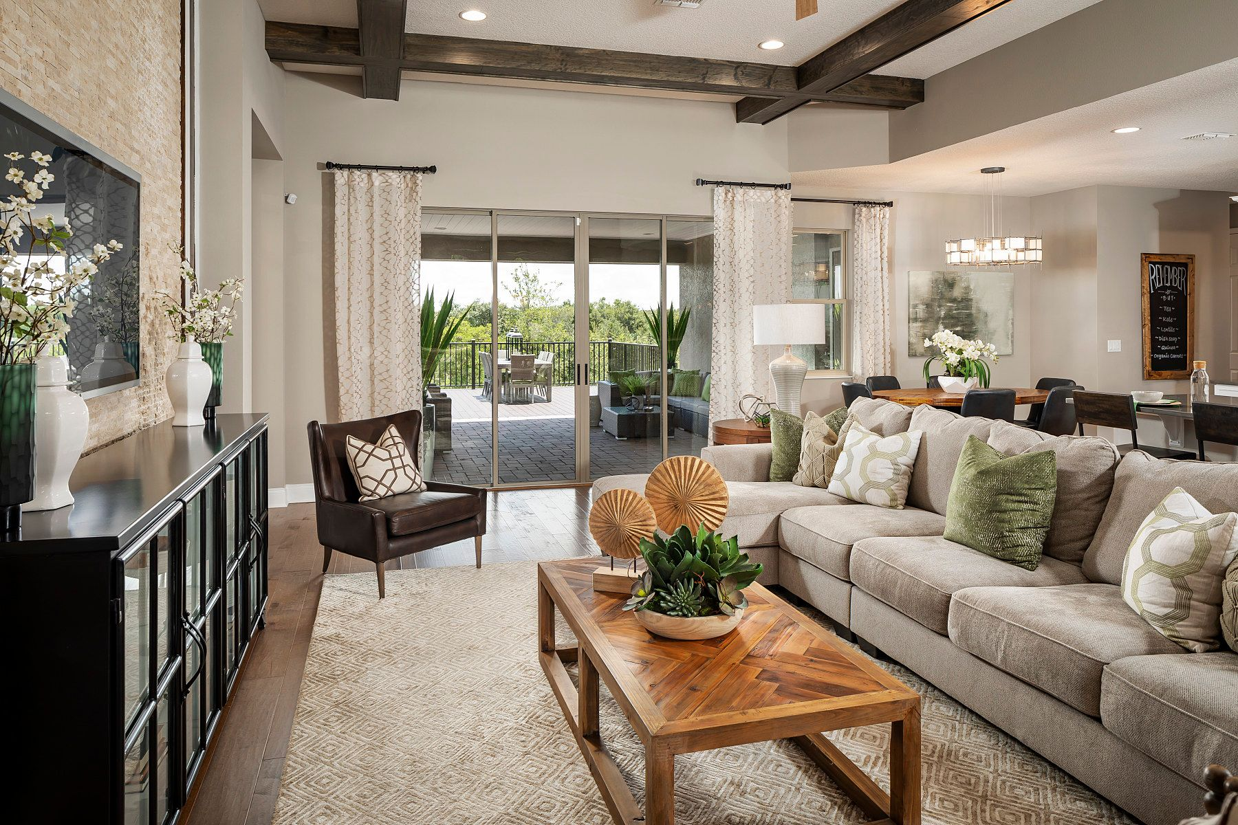Living Area featured in the Brookhaven Fl By M/I Homes in Orlando, FL