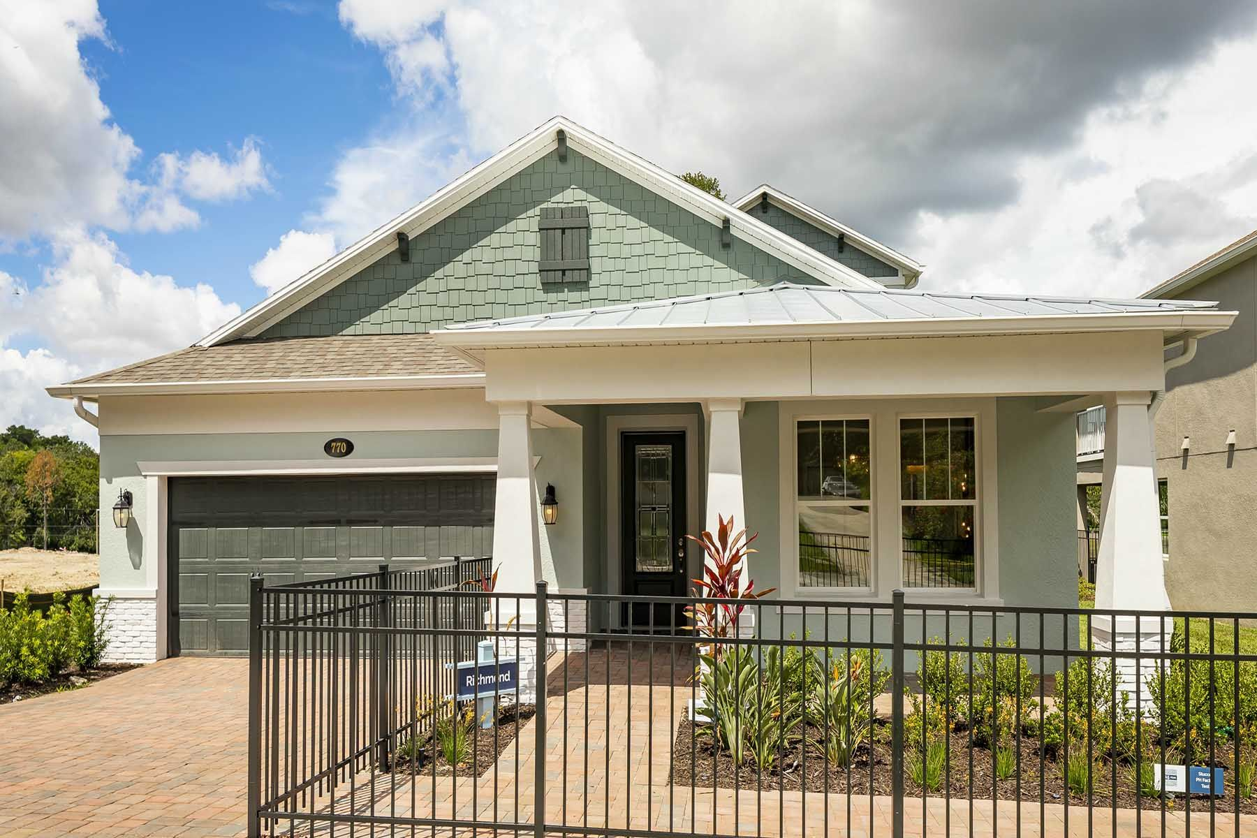 Exterior featured in the Richmond By M/I Homes in Orlando, FL