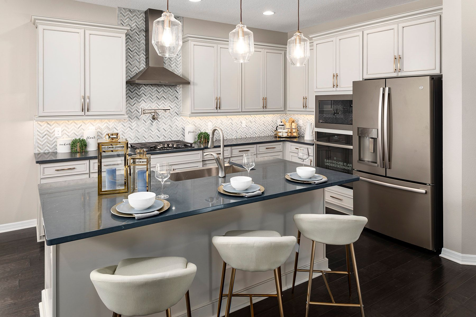 Kitchen featured in the Richmond By M/I Homes in Orlando, FL