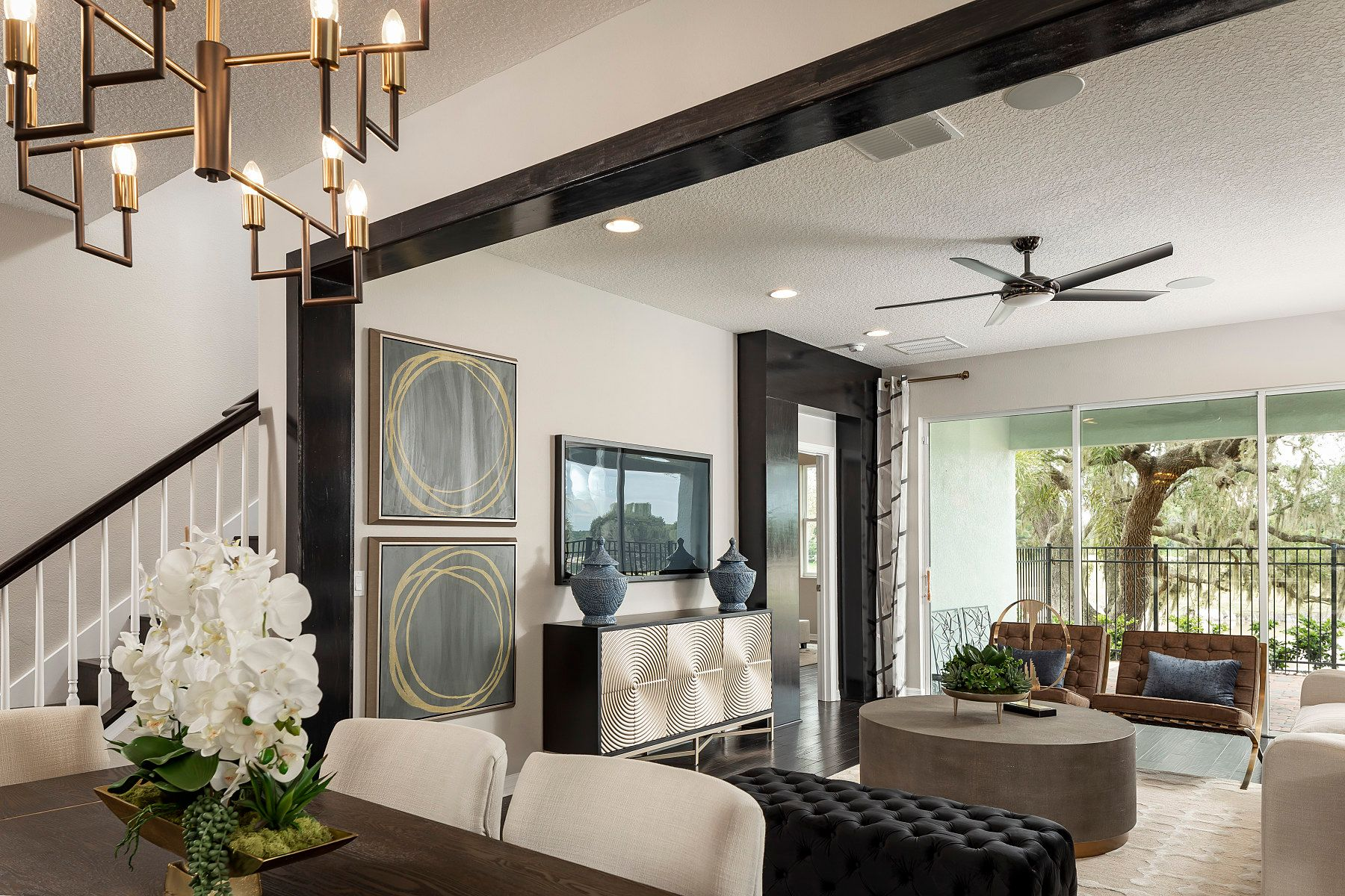 Living Area featured in the Richmond By M/I Homes in Orlando, FL