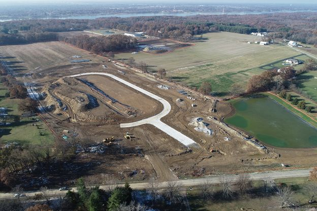 Hoover Farms Aerial