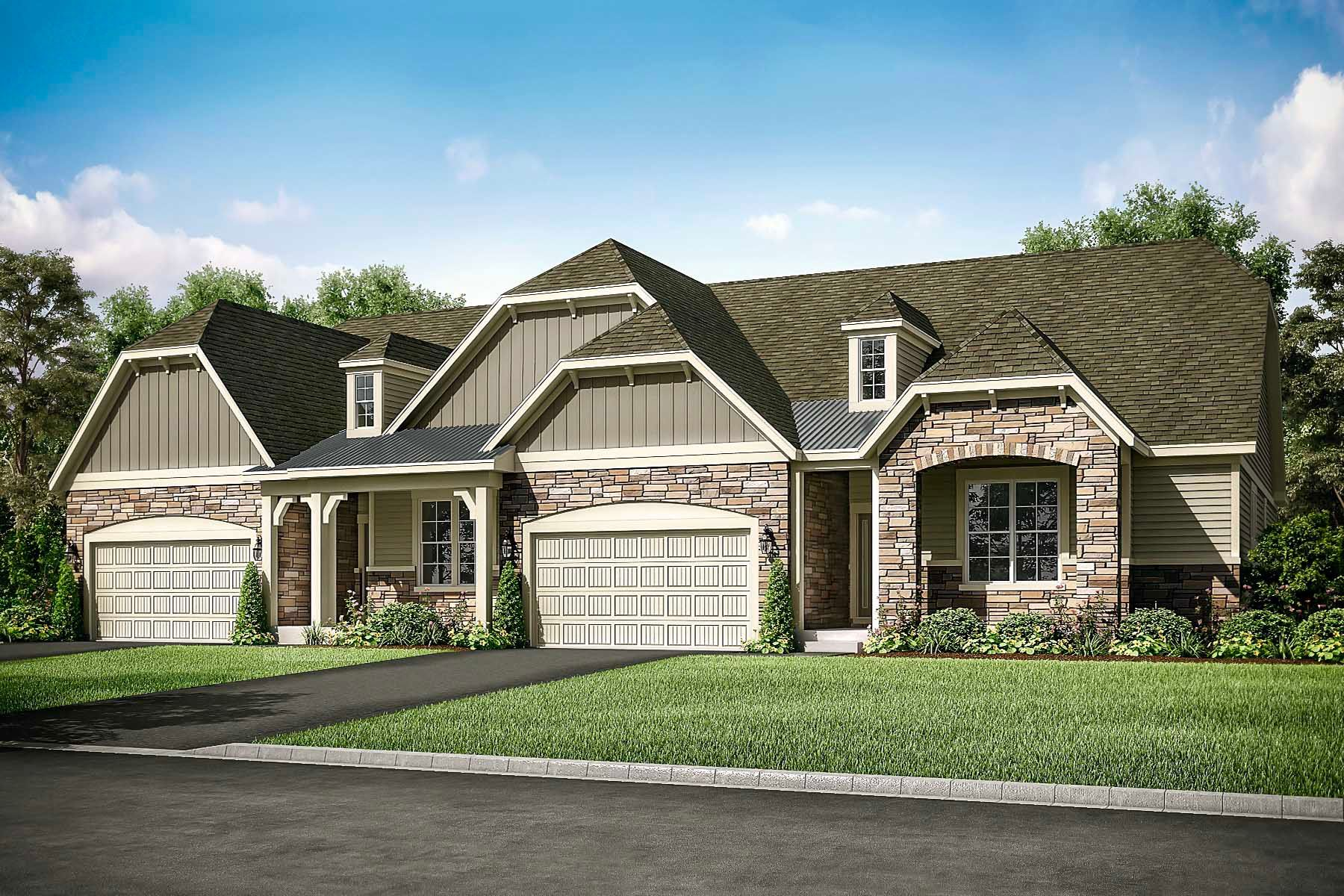 Exterior featured in the Mitchell By M/I Homes in Chicago, IL