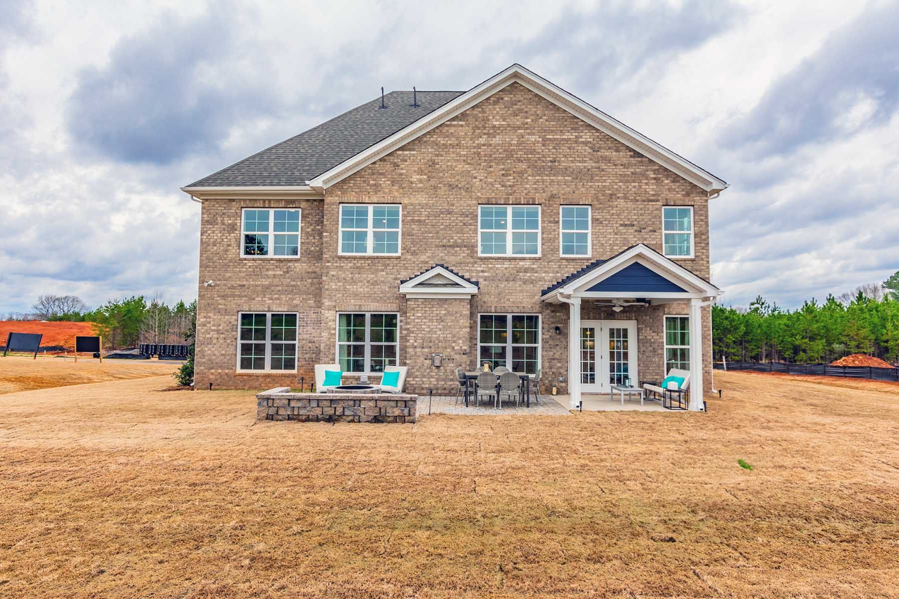 Exterior featured in the Blythe By M/I Homes in Charlotte, SC