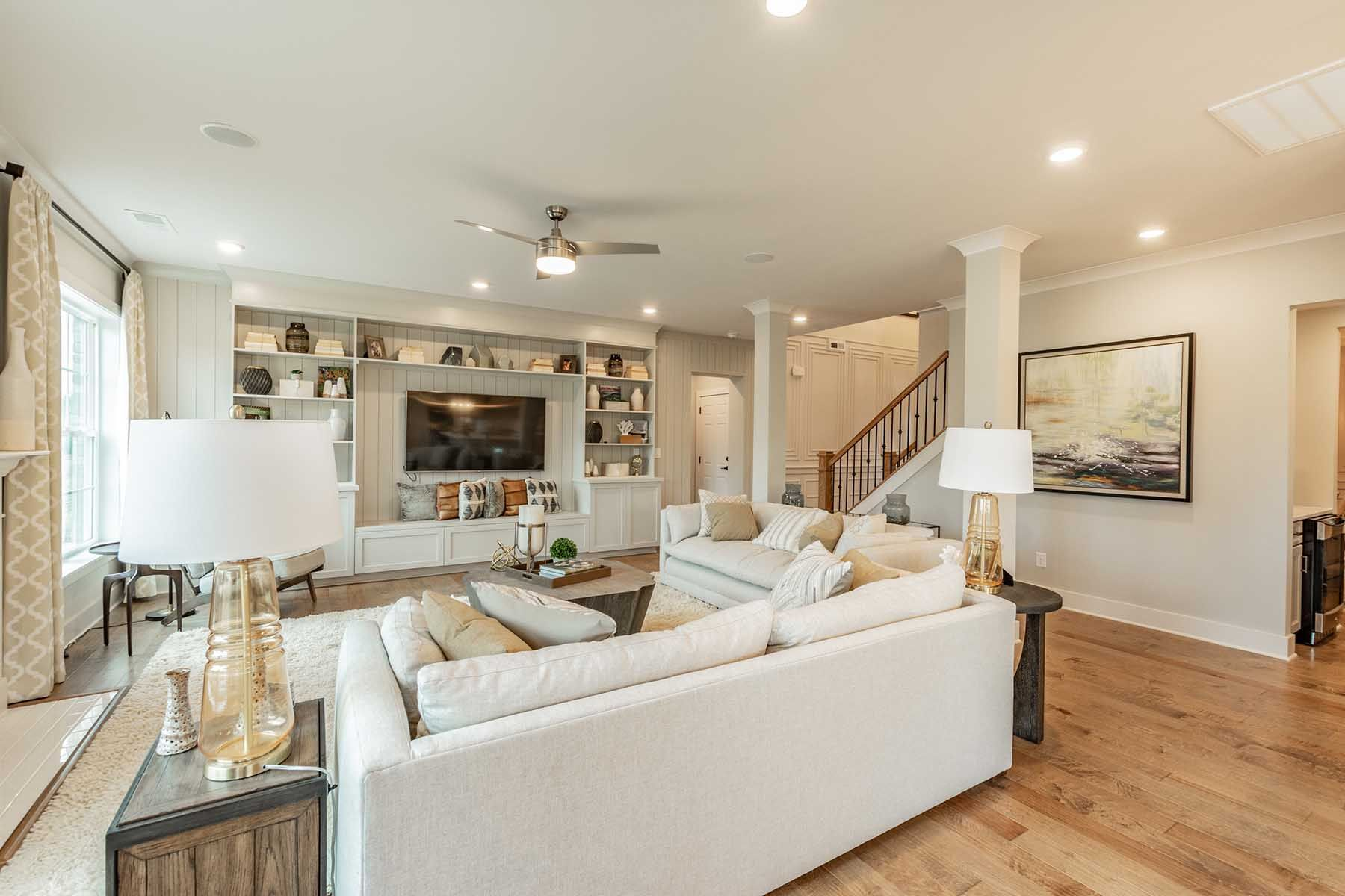 Living Area featured in the Blythe By M/I Homes in Charlotte, SC