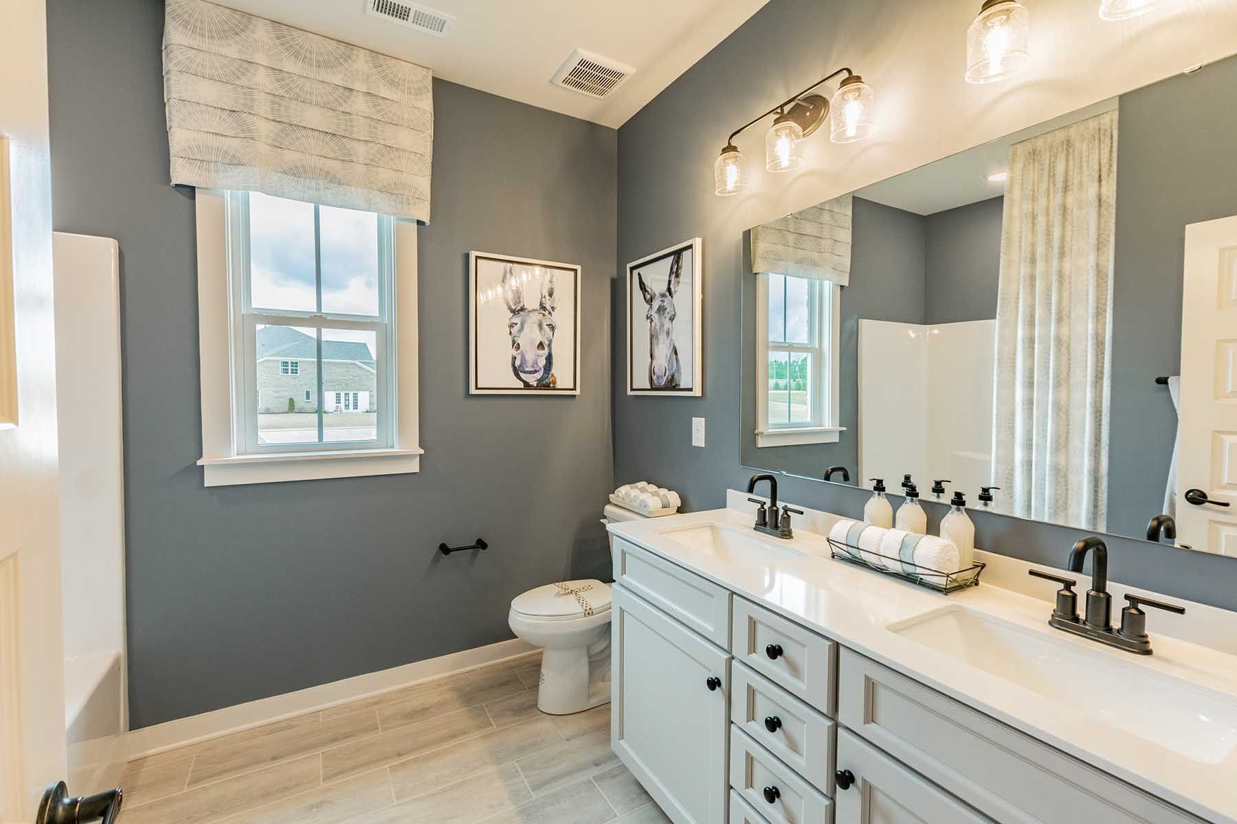 Bathroom featured in the Blythe By M/I Homes in Charlotte, SC