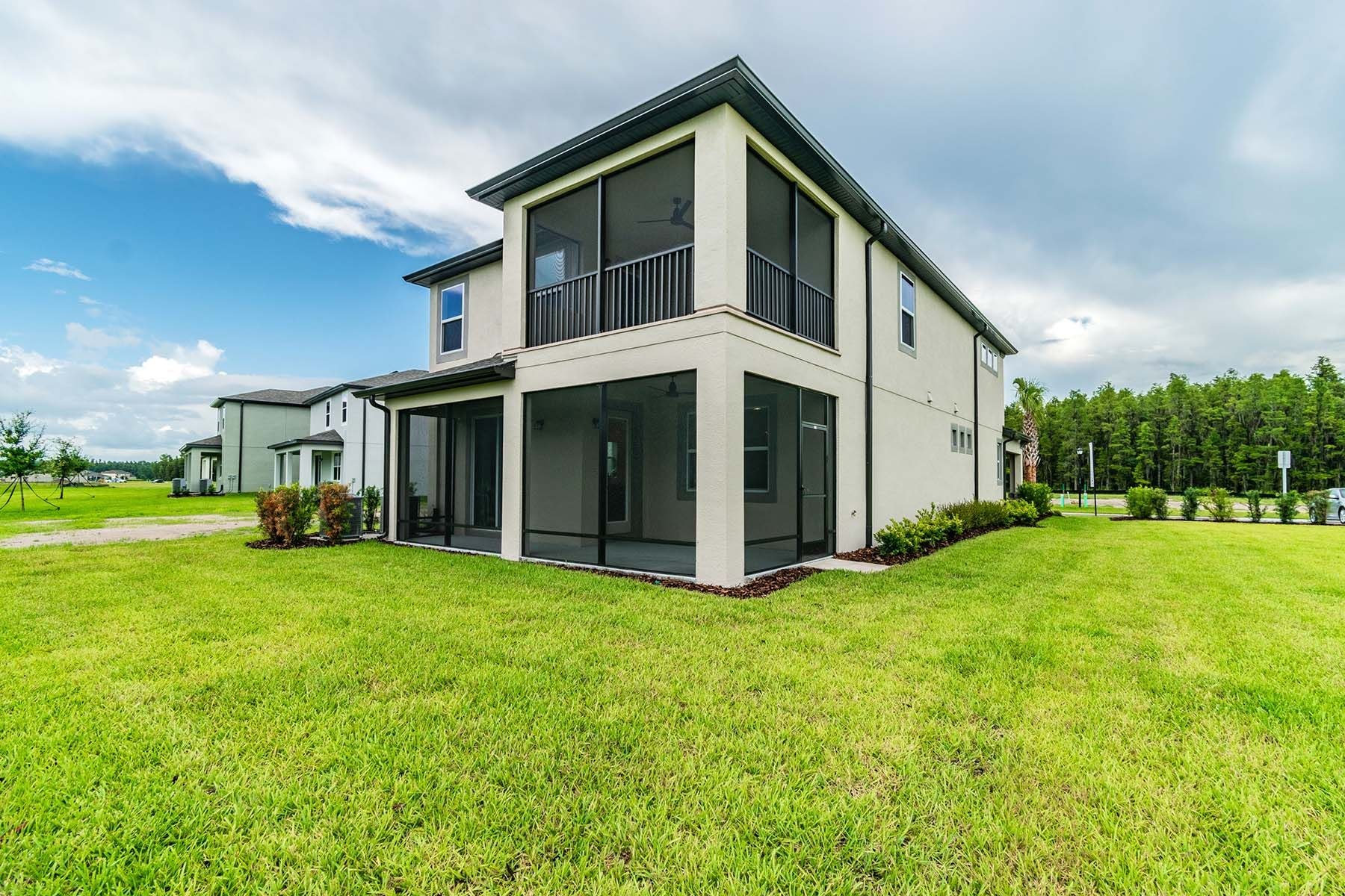 Exterior featured in the Willow By M/I Homes in Tampa-St. Petersburg, FL