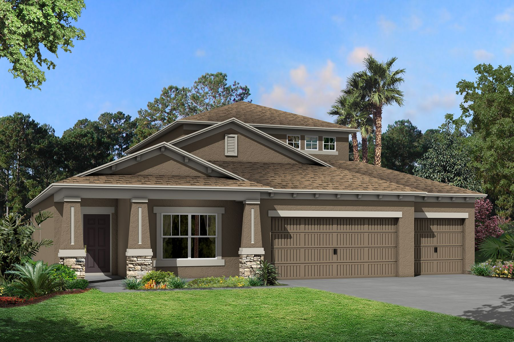 Exterior featured in the Picasso Bonus By M/I Homes in Tampa-St. Petersburg, FL