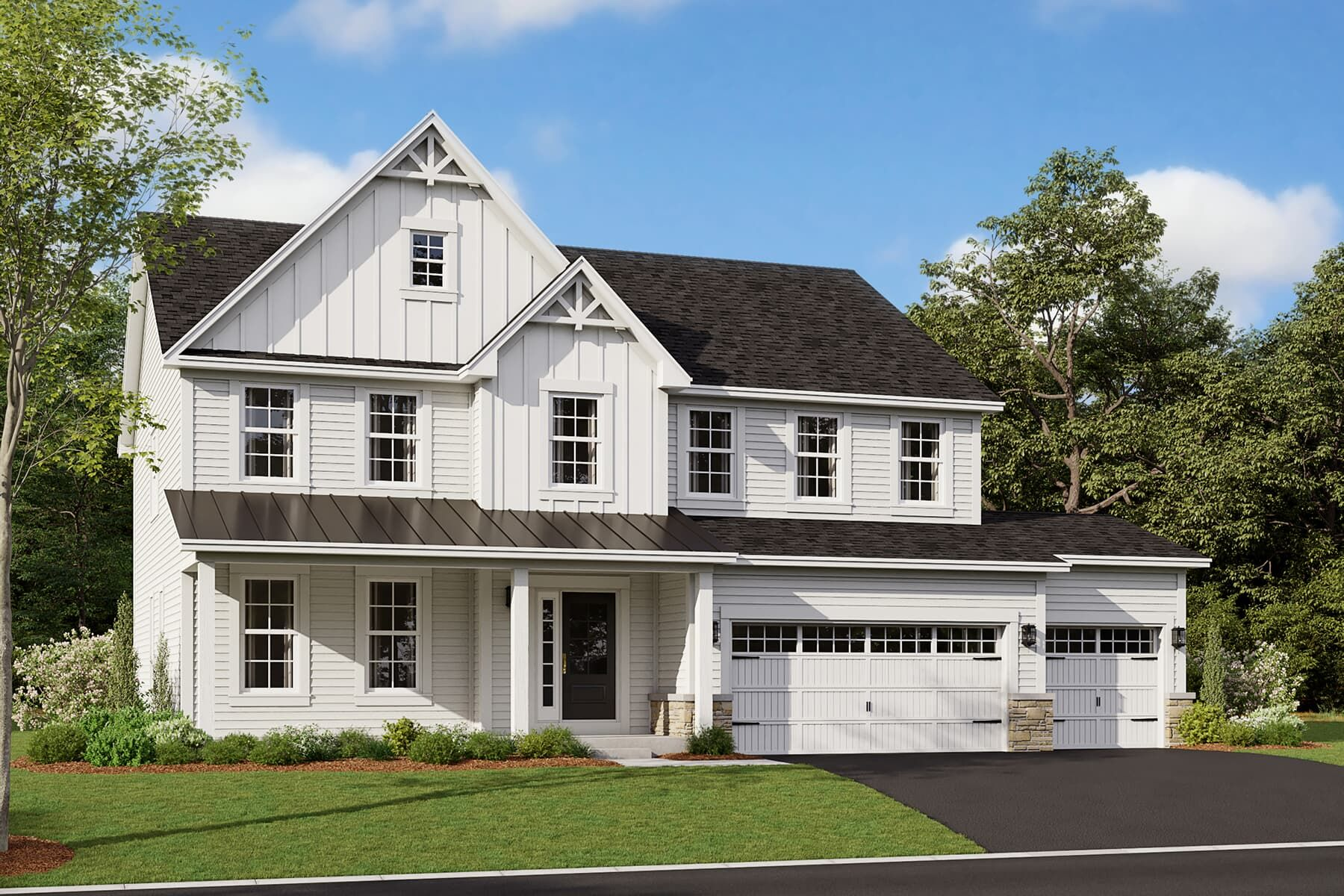 Exterior featured in the Fairbanks By M/I Homes in Chicago, IL