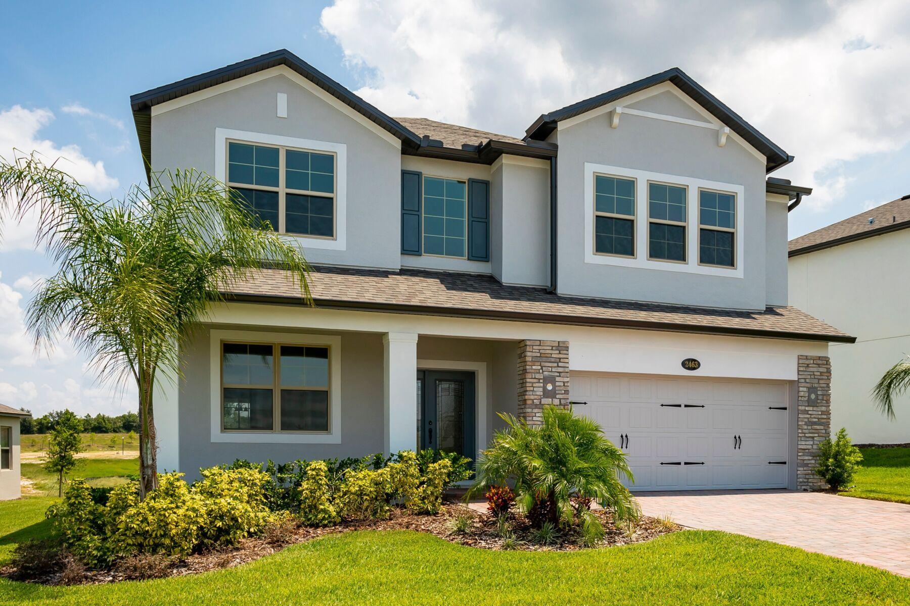 'Vistas at Waters Edge' by M/I Homes-Orlando in Orlando