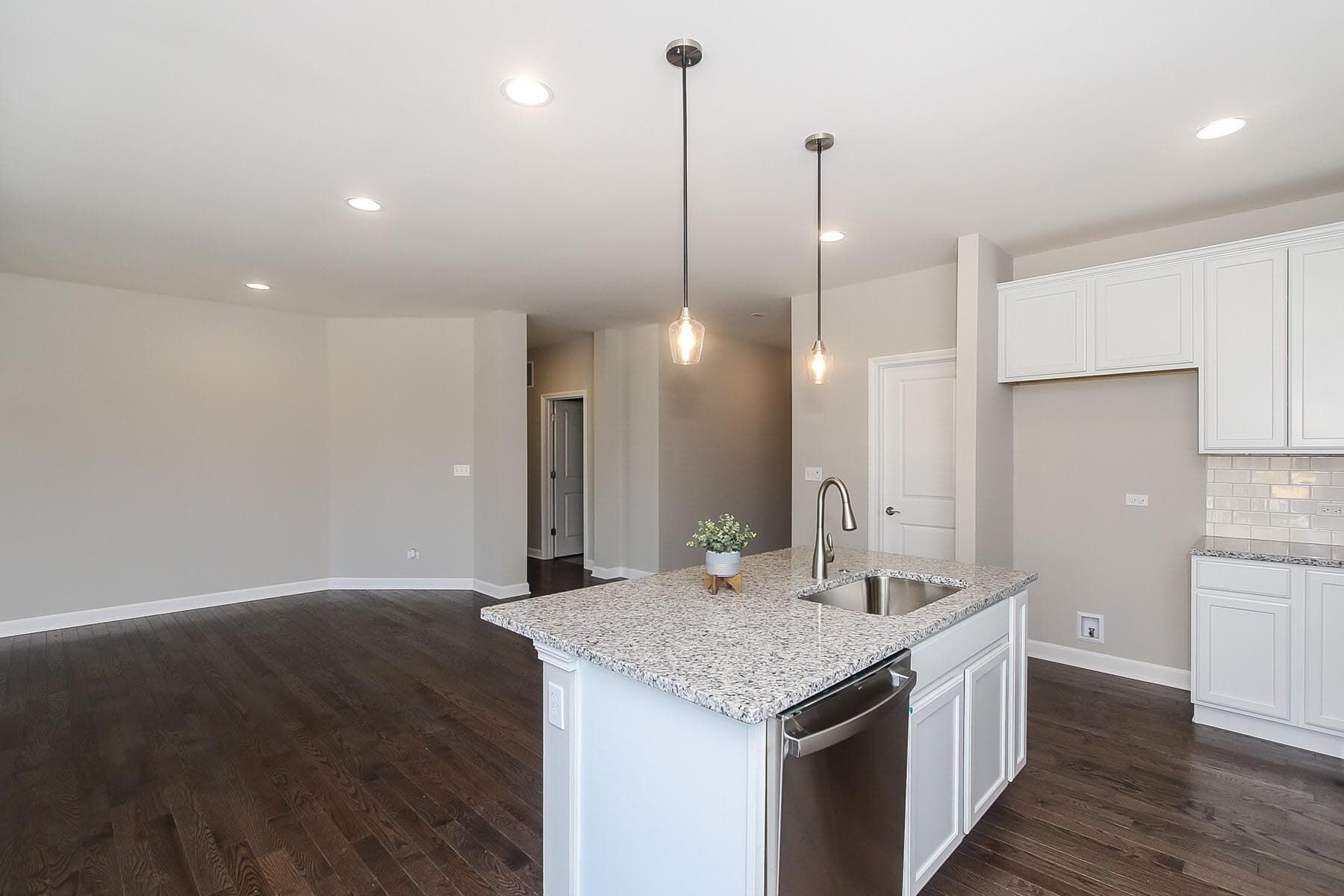 Kitchen featured in the Austin By M/I Homes in Chicago, IL
