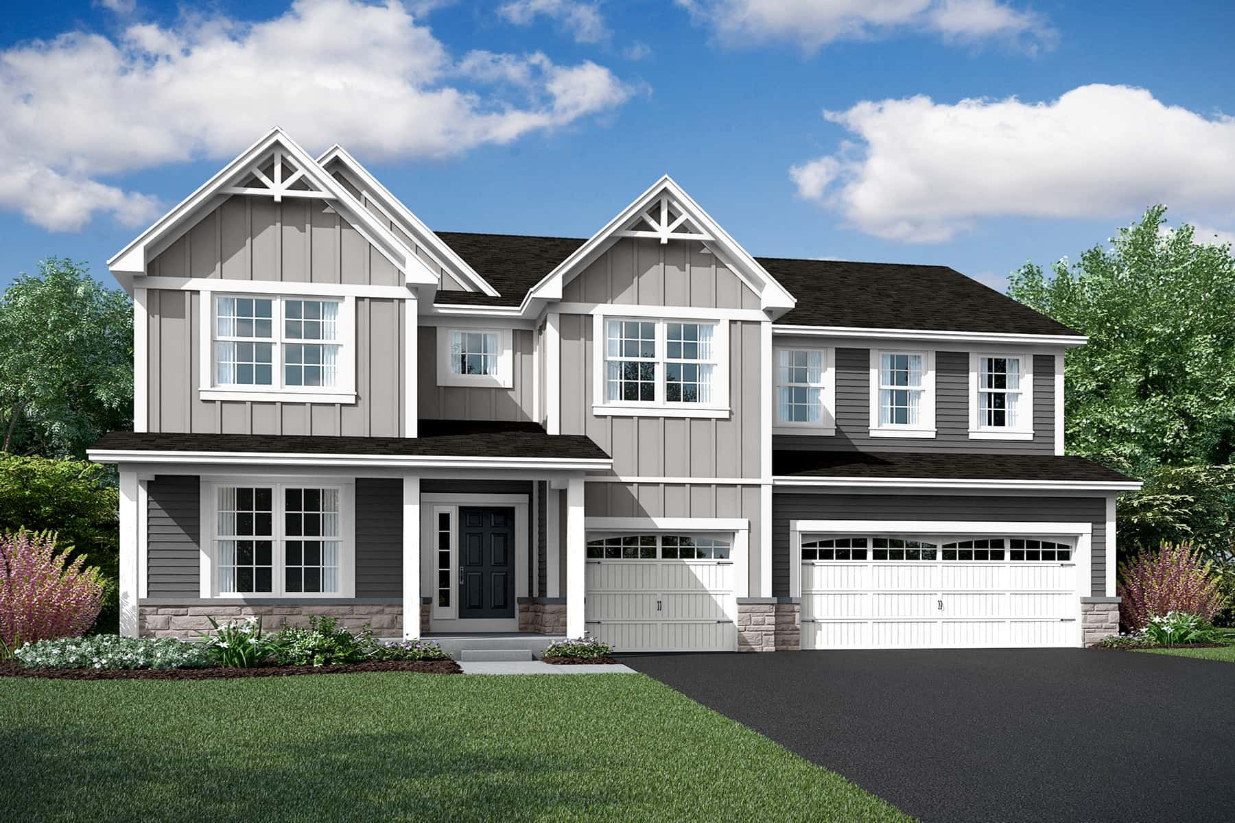 Exterior featured in the Hudson By M/I Homes in Chicago, IL