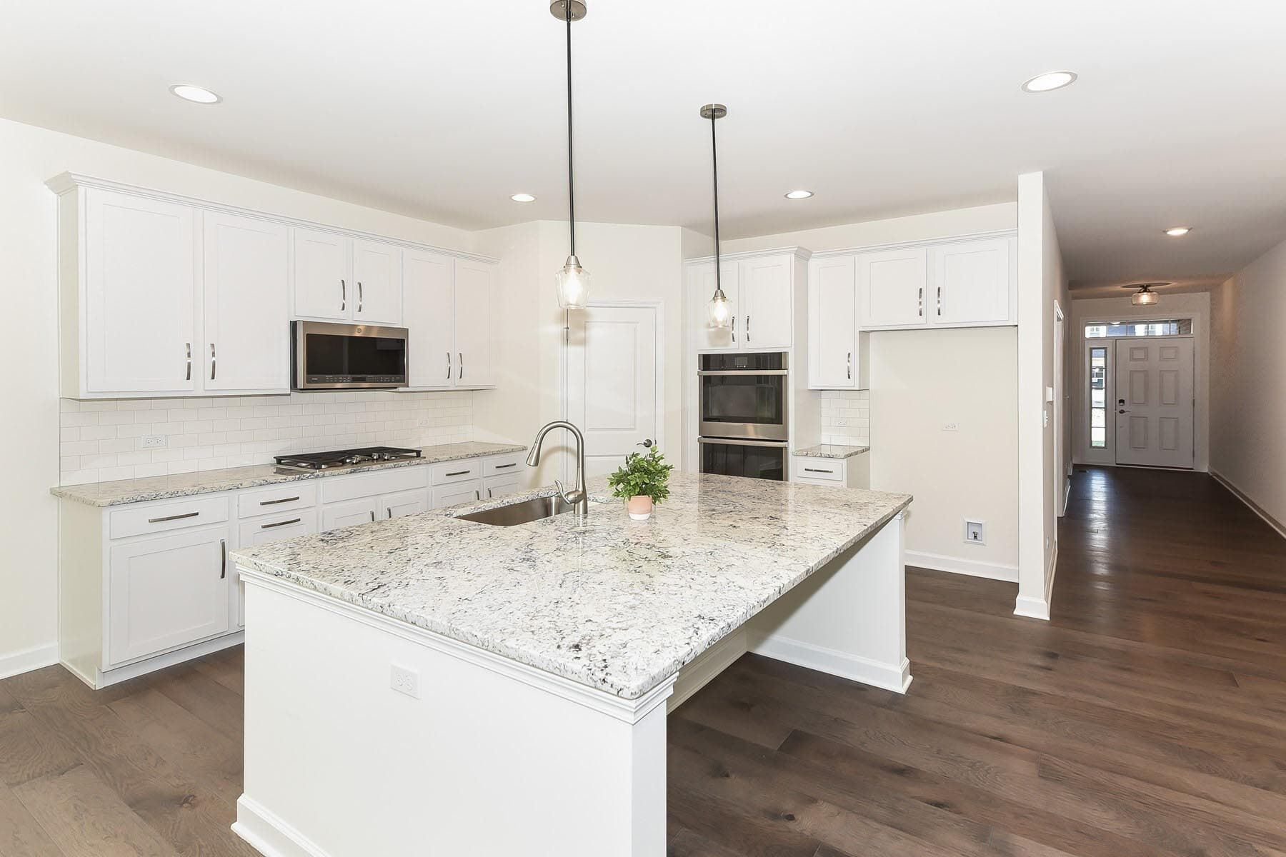 Kitchen featured in the Drexel By M/I Homes in Chicago, IL
