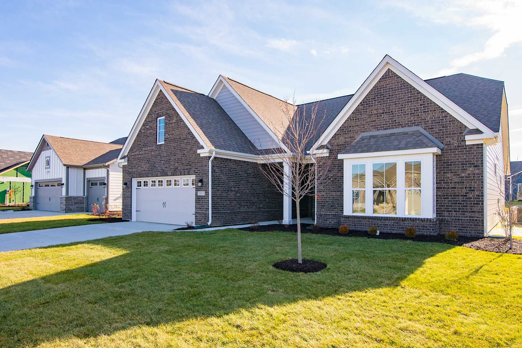 Exterior featured in the Kentmore  III Slab By M/I Homes in Indianapolis, IN