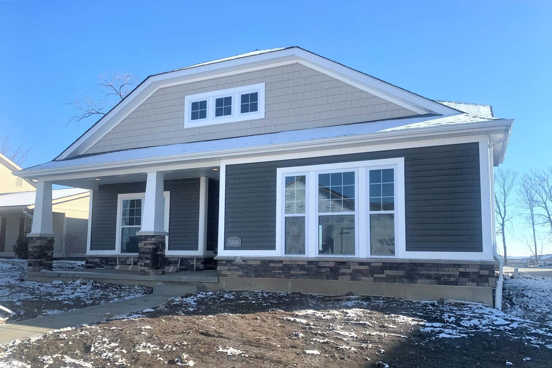 Exterior featured in the Charleston By M/I Homes in Cincinnati, OH