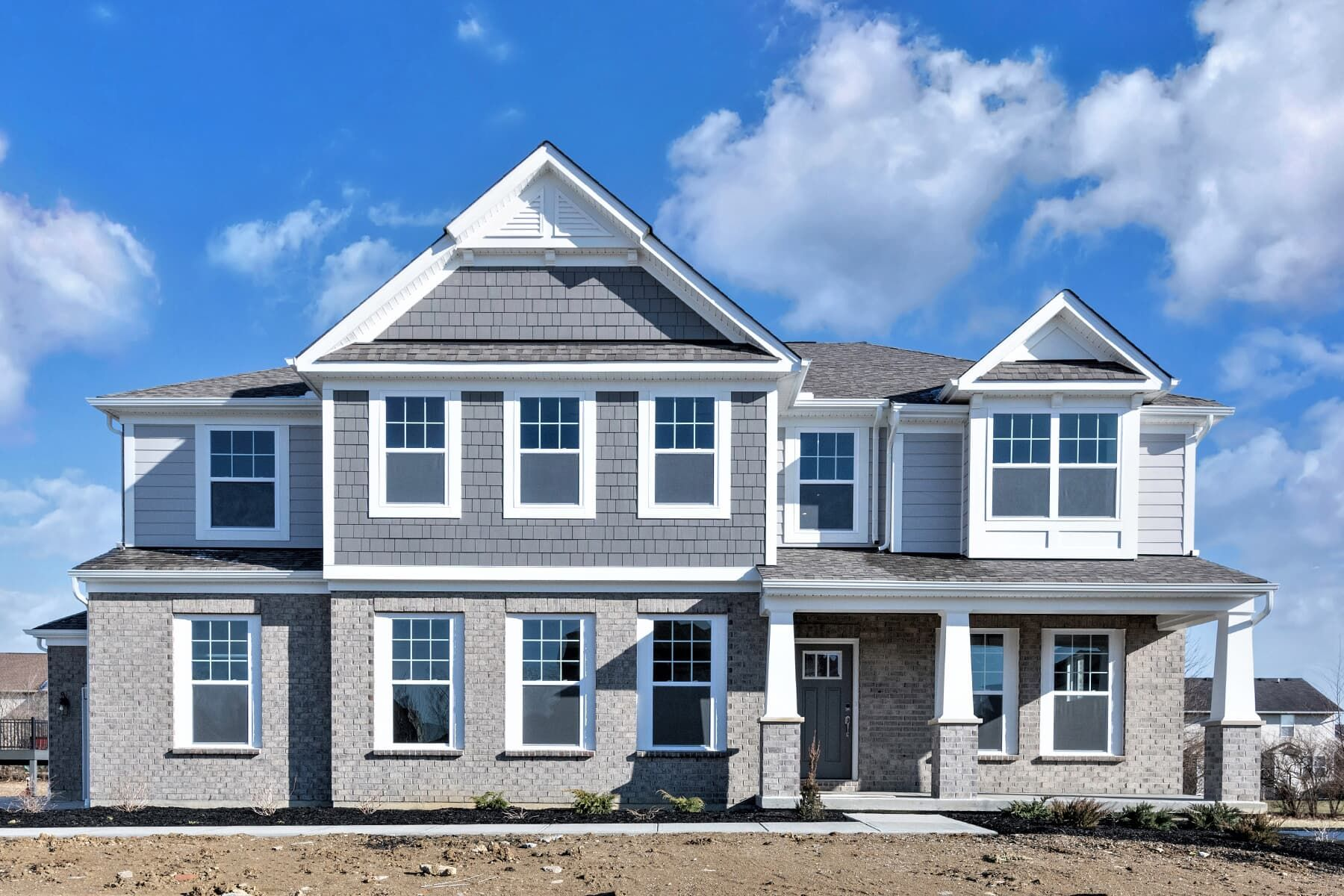 Exterior featured in the Nicholas By M/I Homes in Cincinnati, OH