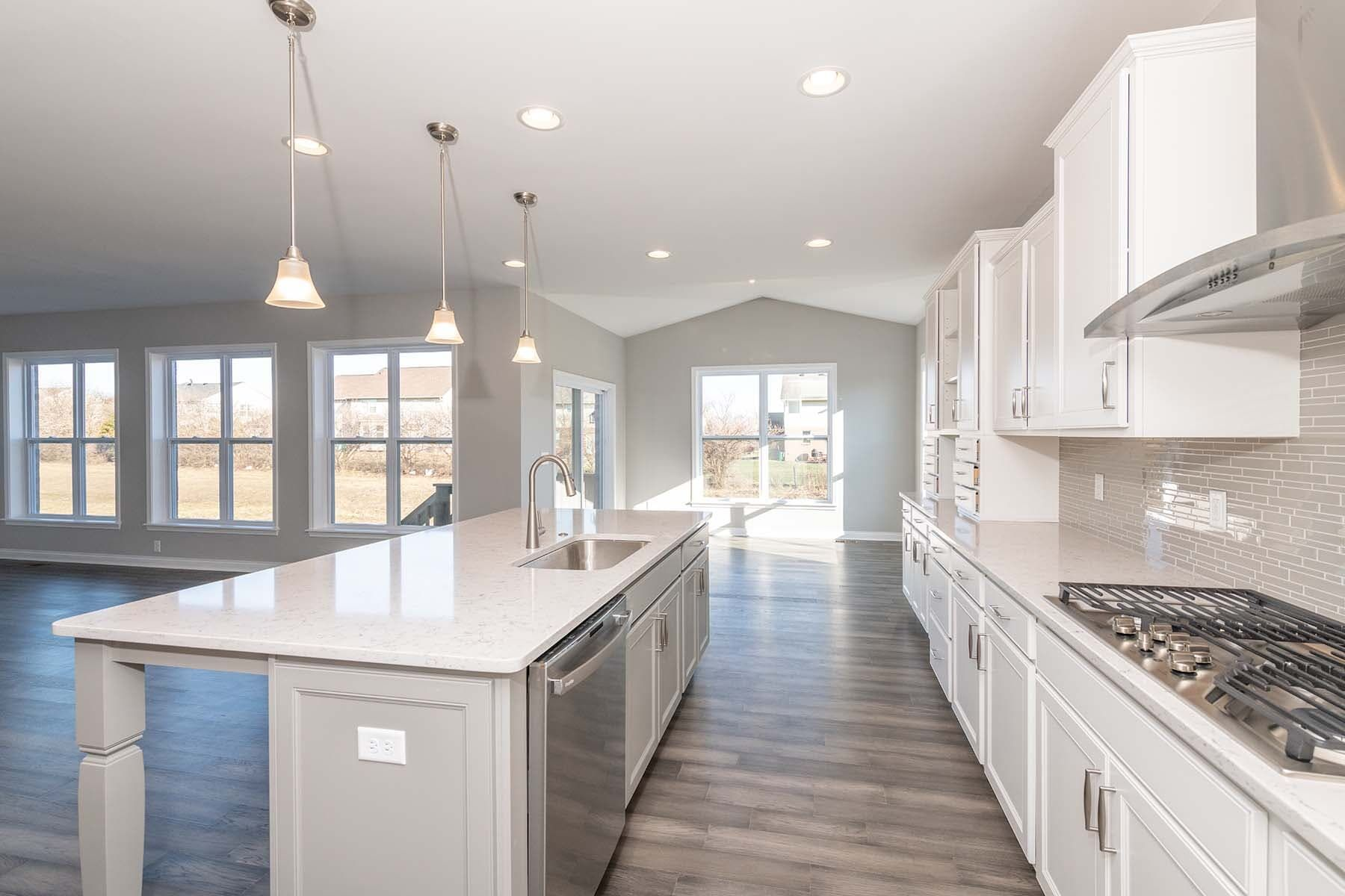 Kitchen featured in the Nicholas By M/I Homes in Cincinnati, OH