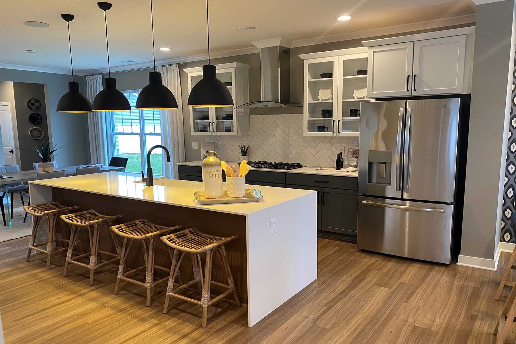 Kitchen featured in the R2050 By M/I Homes in Indianapolis, IN