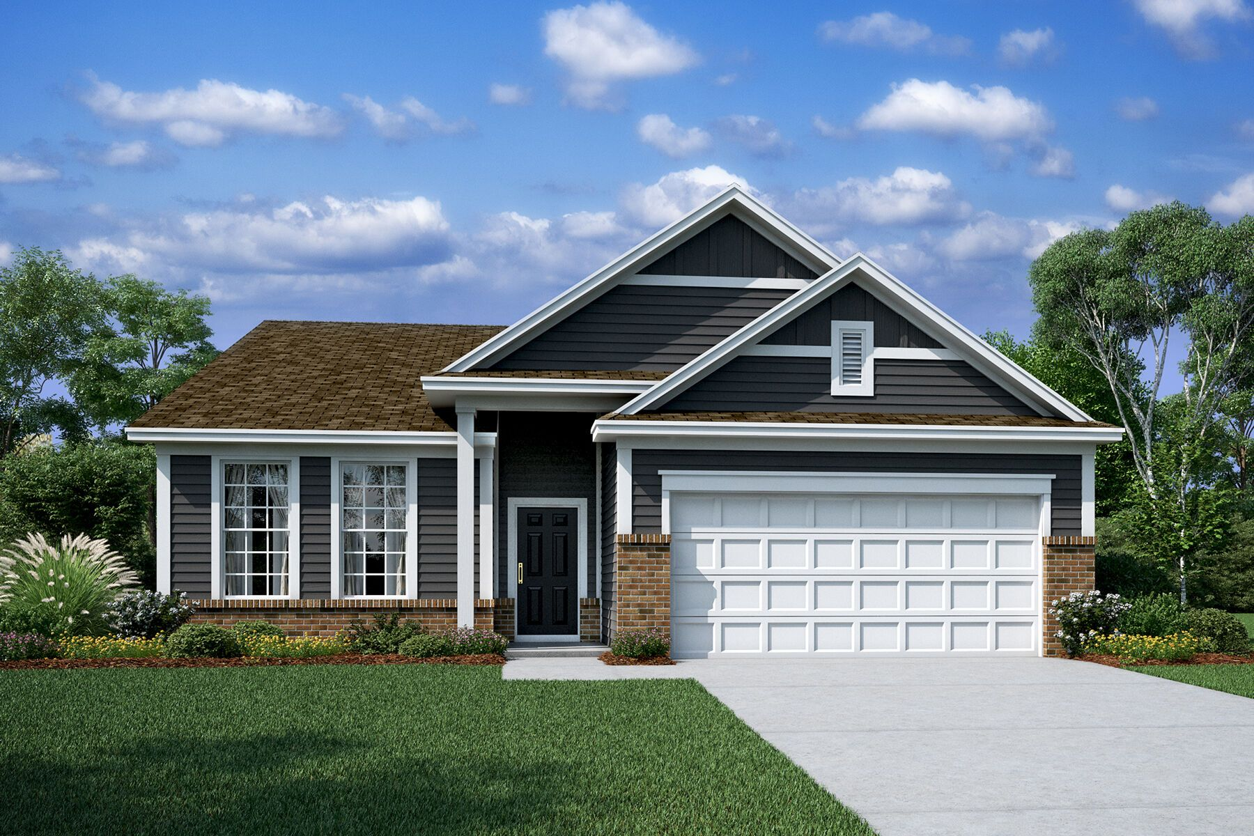 Exterior featured in the Adams II By M/I Homes in Charlotte, SC